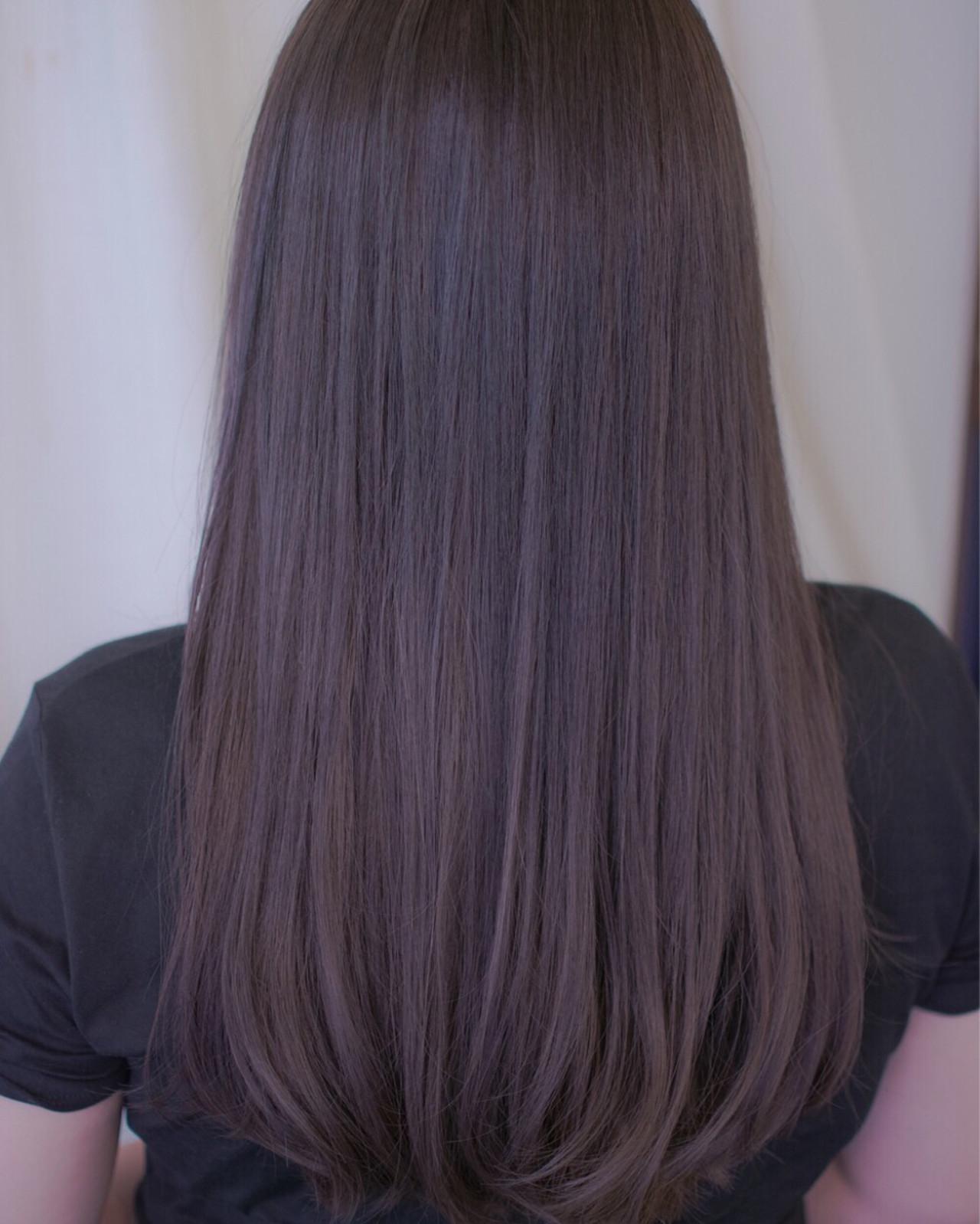 ラベンダーアッシュなあなたの髪色を旬に♪うっとり色落ちを楽しもう 野口 輝 / vicushair