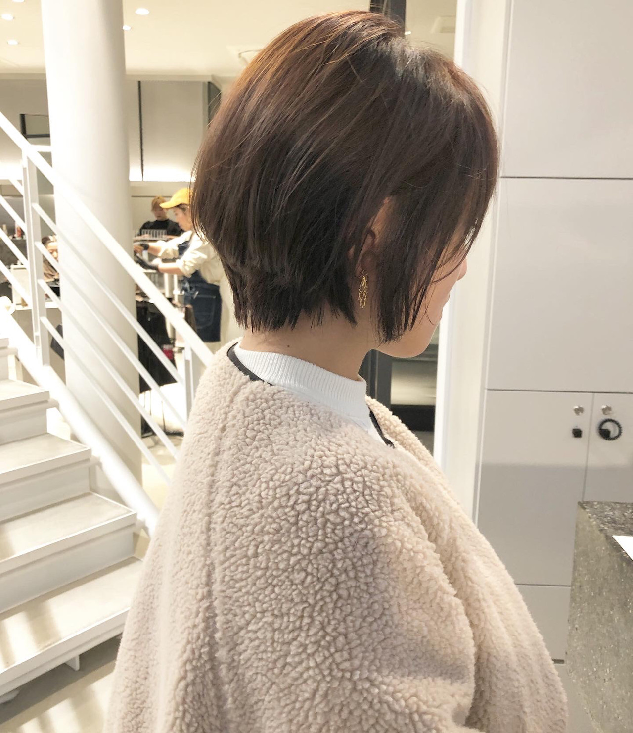 ベリーショート マッシュショート ハンサムショート ナチュラル ヘアスタイルや髪型の写真・画像   市岡 久 / BLANCOtres