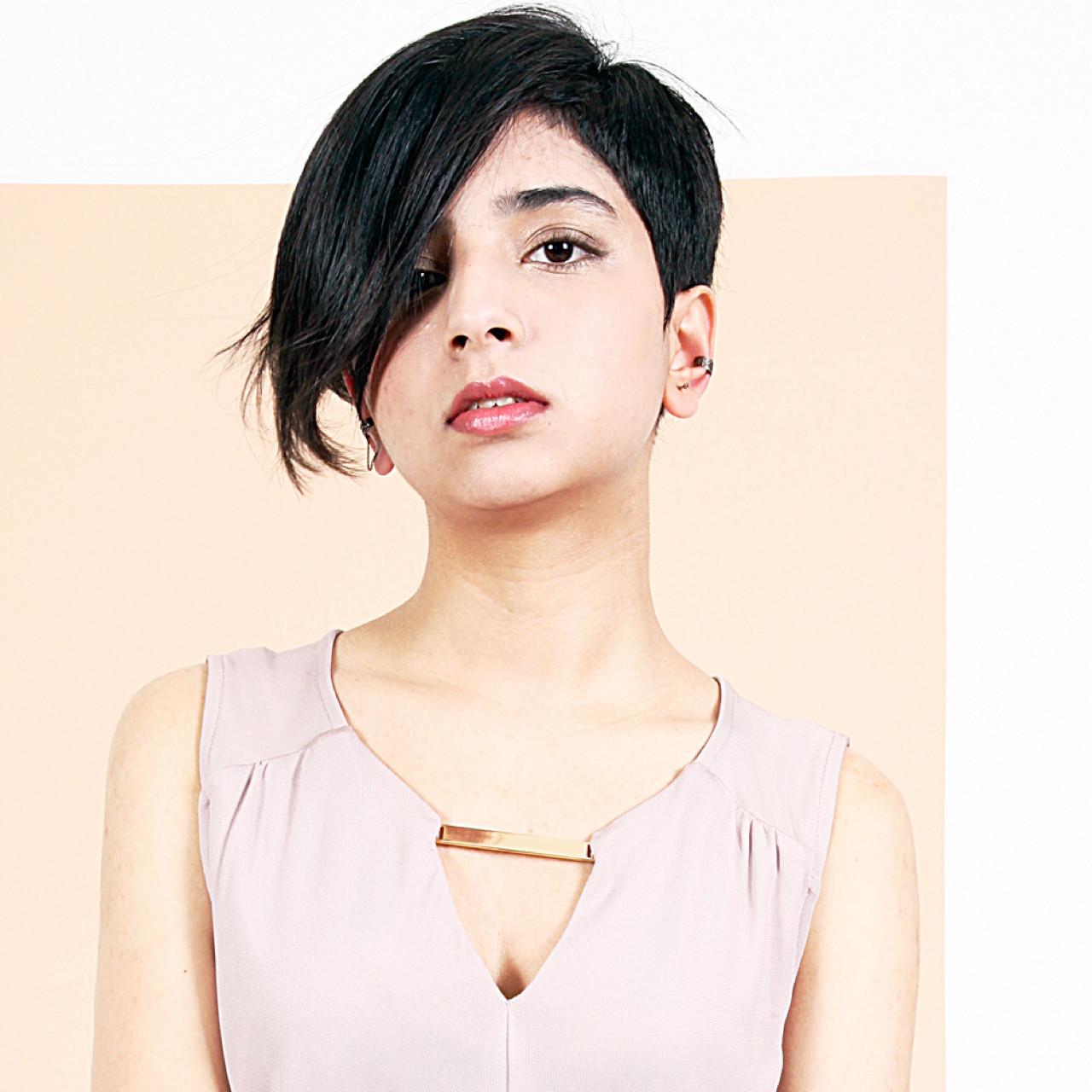 黒髪 モード ショート 小顔 ヘアスタイルや髪型の写真・画像 | 永島 稔久 / Salon ryu