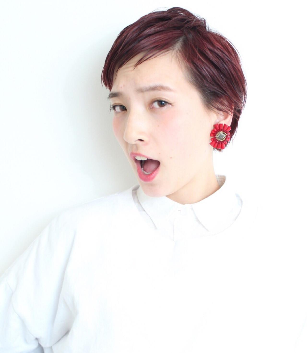 ショートカットの魅力UPはグラデーションカラーで!髪色の魔法で変身♡ 山田 裕介