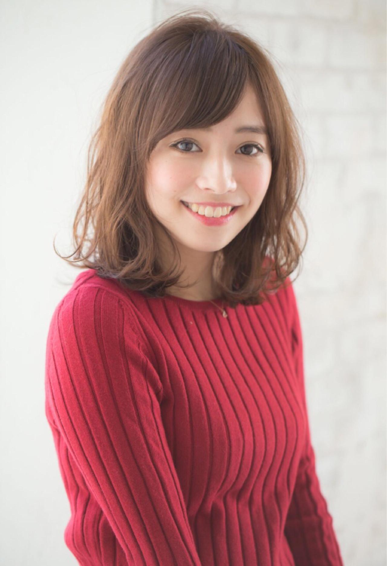 簡単ヘアアレンジ ナチュラル ニュアンス 大人かわいい ヘアスタイルや髪型の写真・画像 | 赤井希望 / joemibyUnami