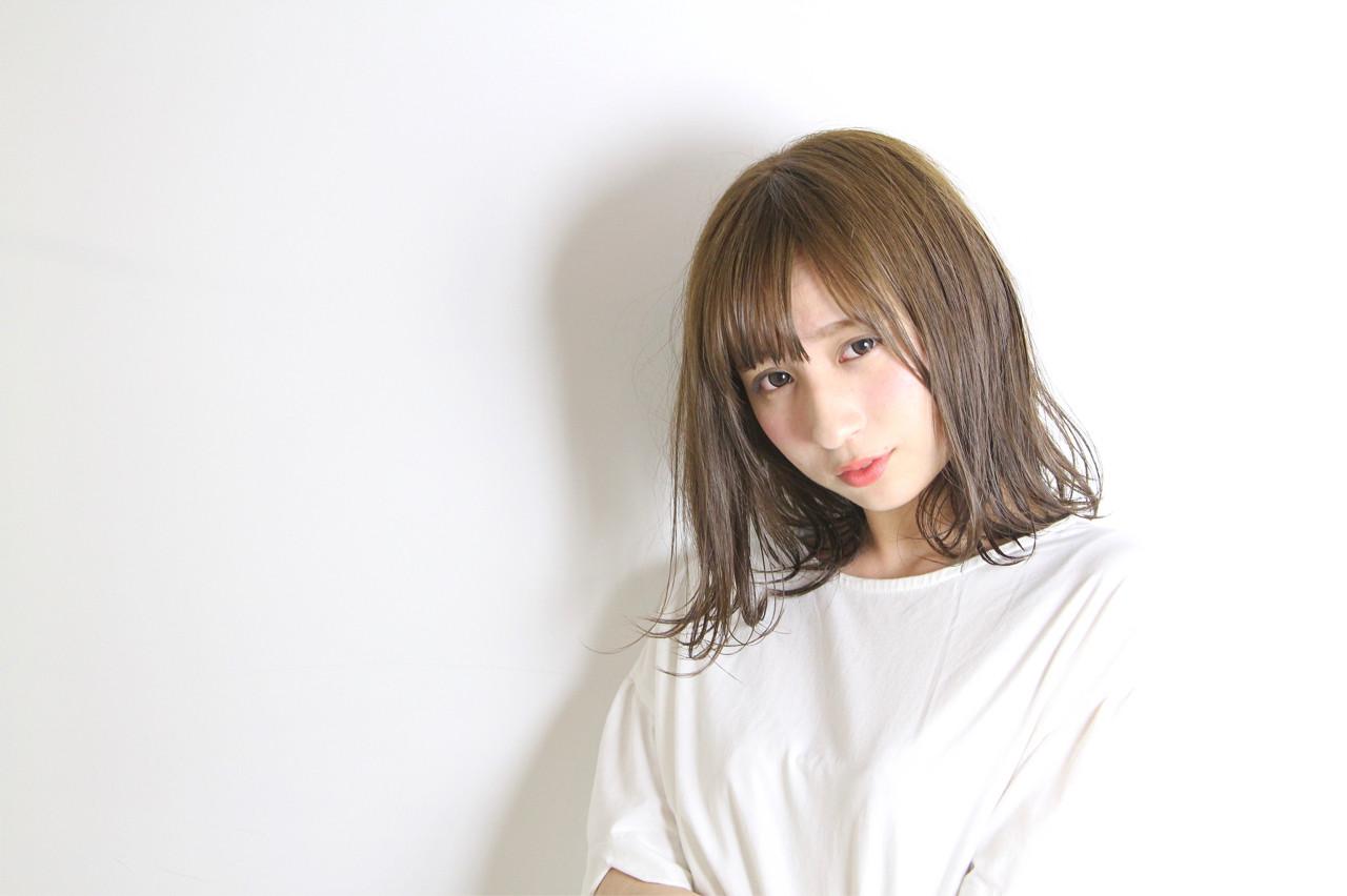 かわいい ナチュラル イルミナカラー 小顔 ヘアスタイルや髪型の写真・画像 | 和田 成泰 / LAXA HAIR WORKS