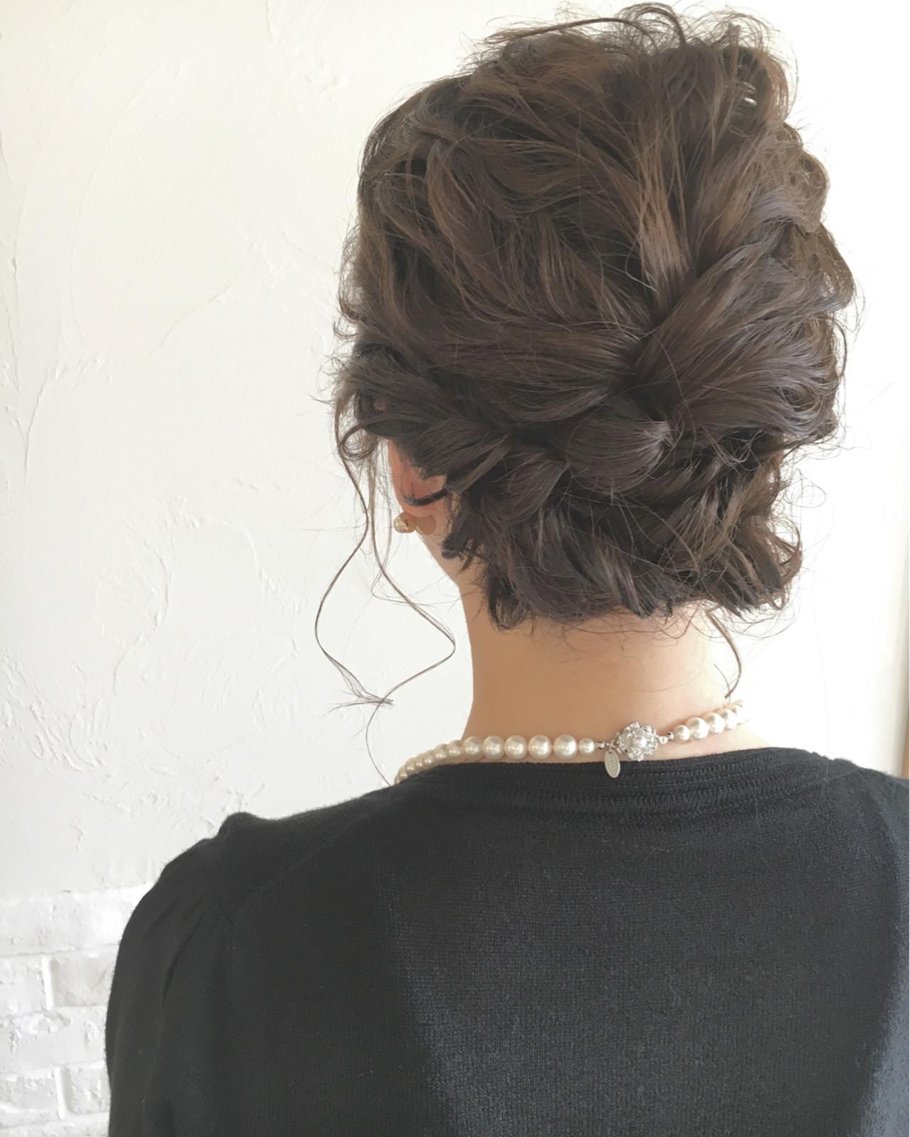 パーティ 外国人風 結婚式 ヘアアレンジヘアスタイルや髪型の写真・画像