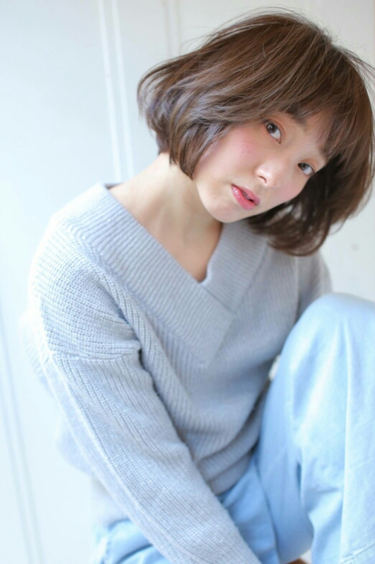 ゆるふわ ショート フェミニン 大人かわいい ヘアスタイルや髪型の写真・画像 | asuka /