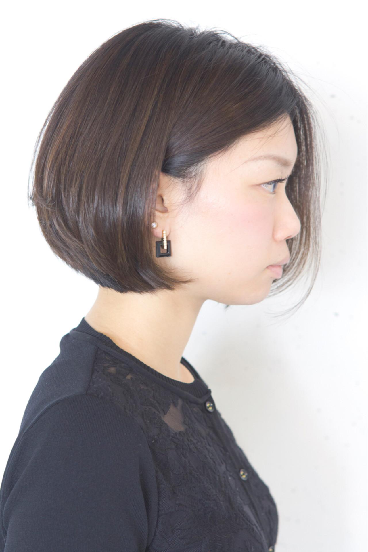 色気 アッシュ 黒髪 小顔 ヘアスタイルや髪型の写真・画像 | sowi 阿部 辰也 / sowi hair design ソーイ