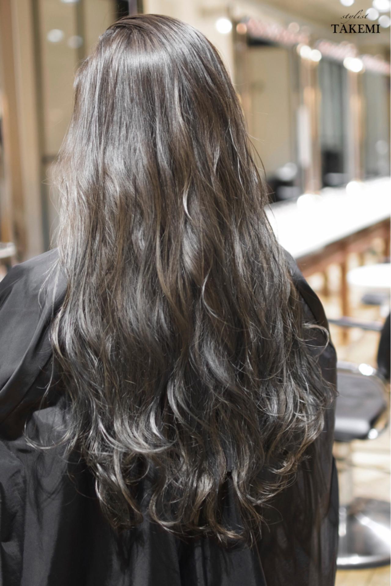 グラデーションカラー 外国人風カラー ガーリー ダブルカラー ヘアスタイルや髪型の写真・画像   TAKEMI / BEBE 表参道