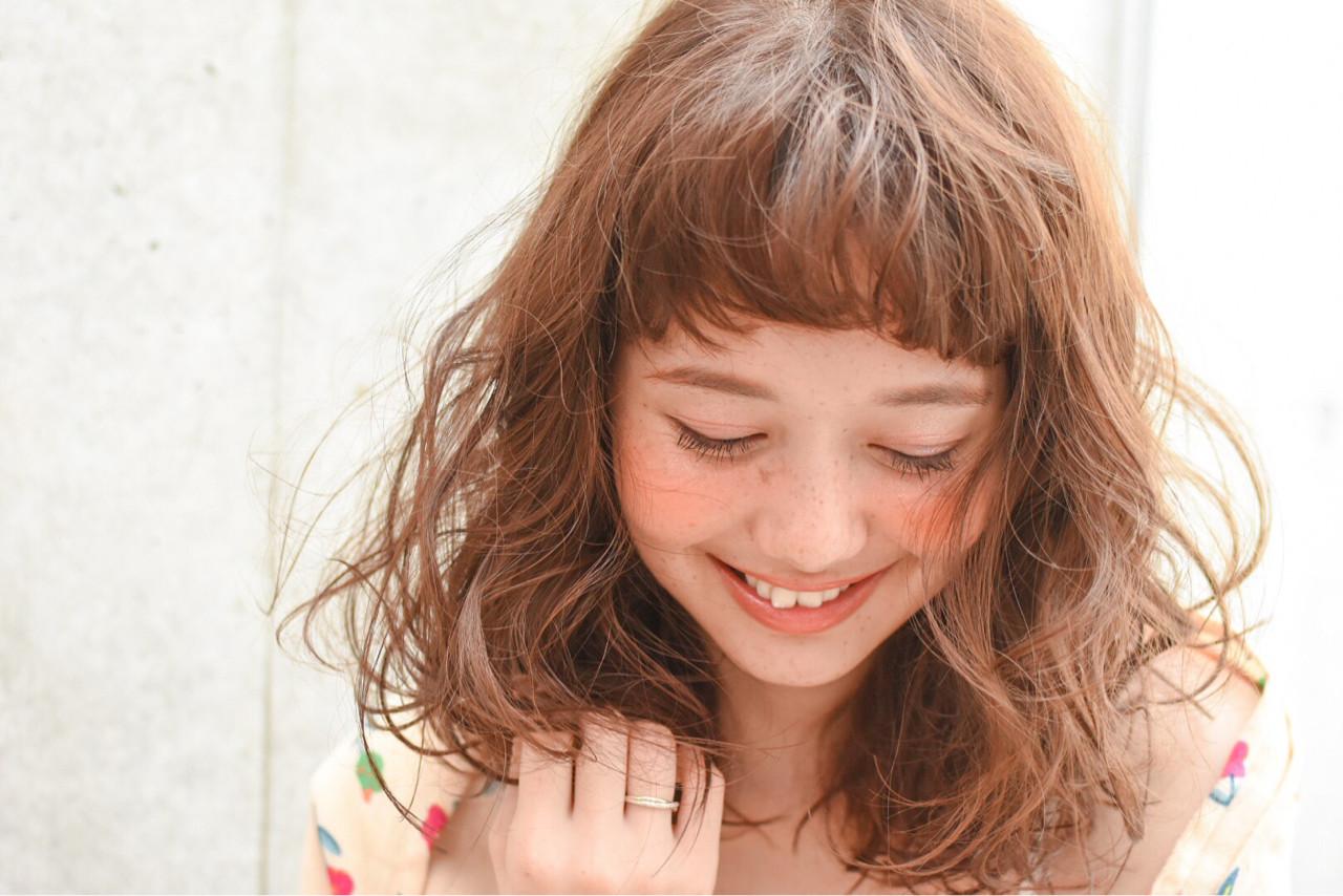 【丸顔さんに似合う髪型】ひし形シルエットの小顔効果でより可愛く♡ 山崎直輝