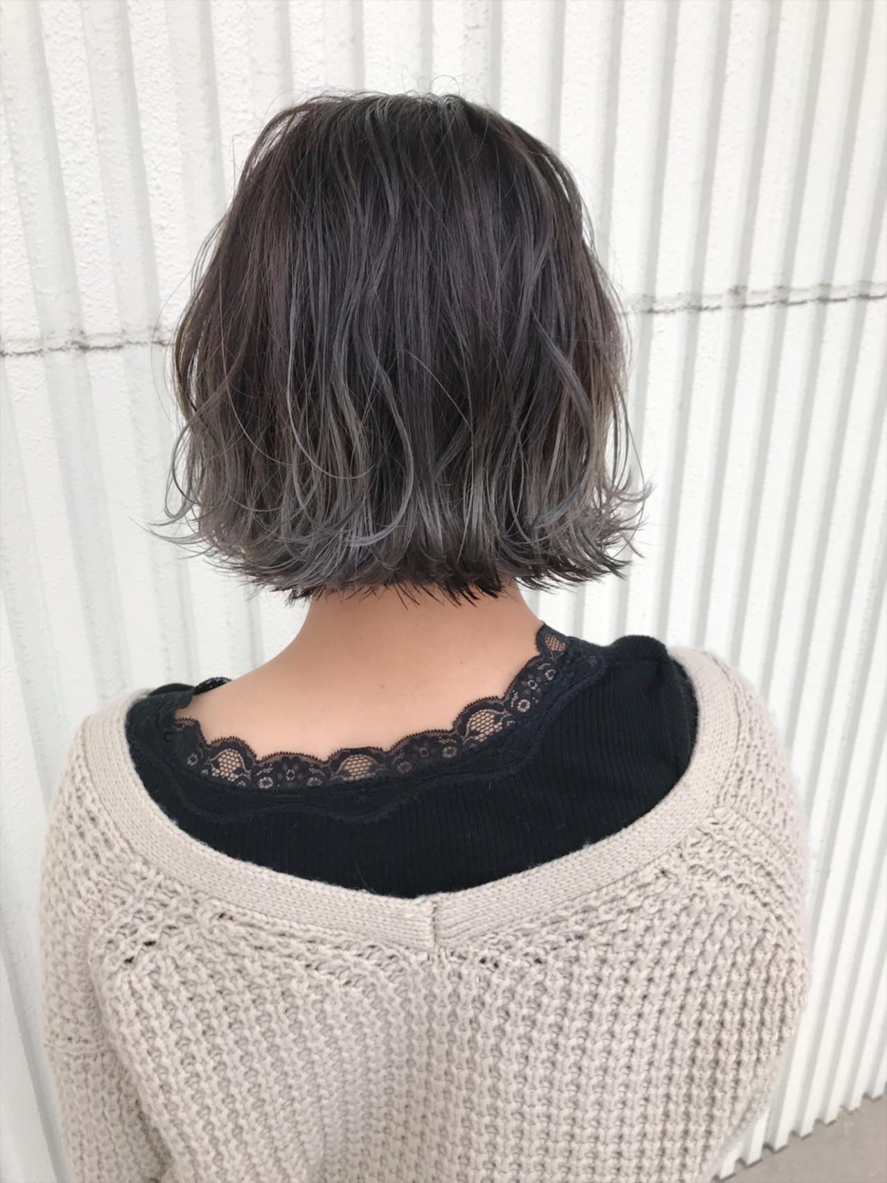 ナチュラル バレイヤージュ ヘアアレンジ ゆるふわ ヘアスタイルや髪型の写真・画像 | kuranico / LORE hair salon