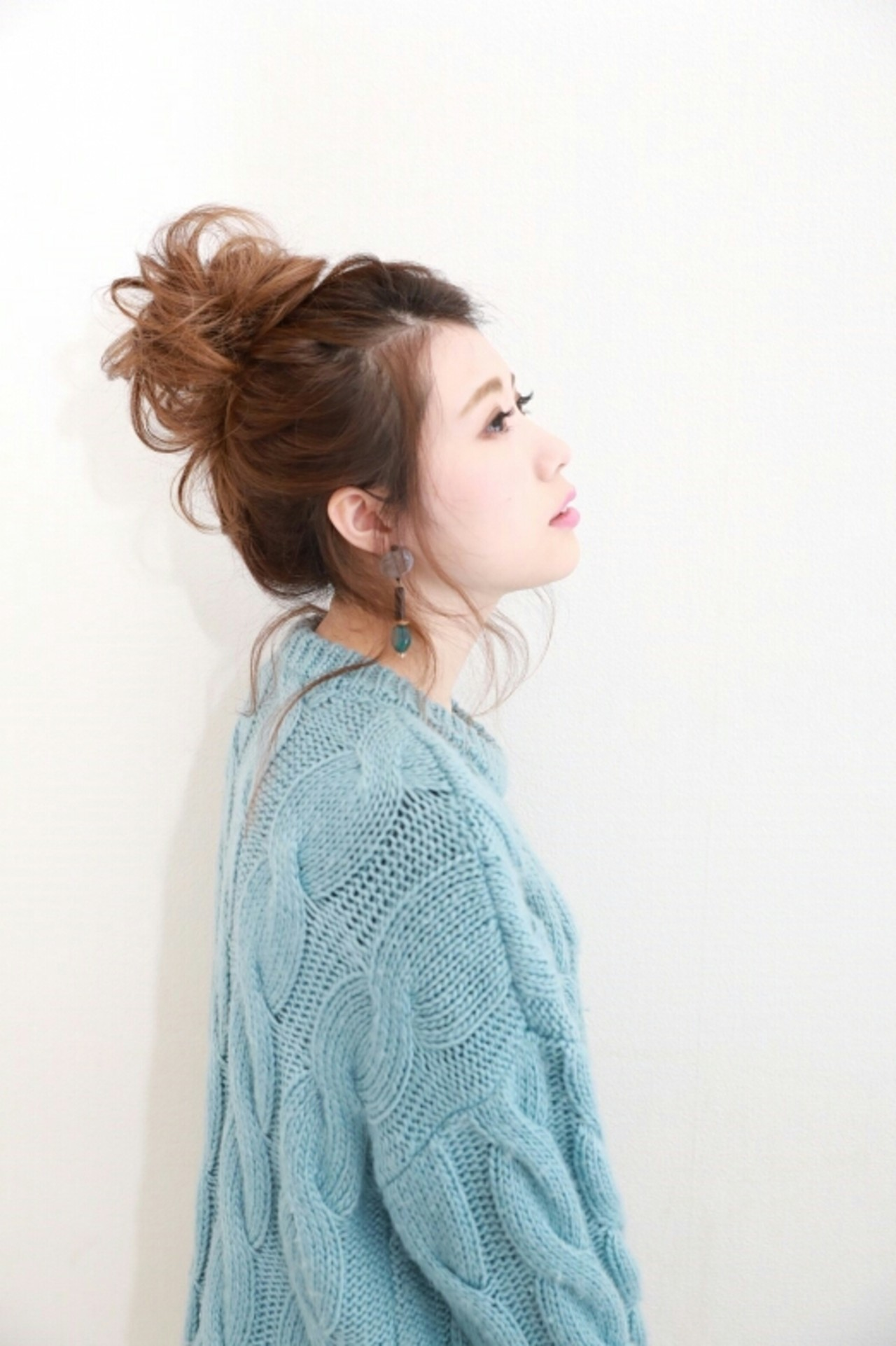 ヘアアレンジ ガーリー ゆるふわ 大人女子 ヘアスタイルや髪型の写真・画像 | Naoko Miura / avant