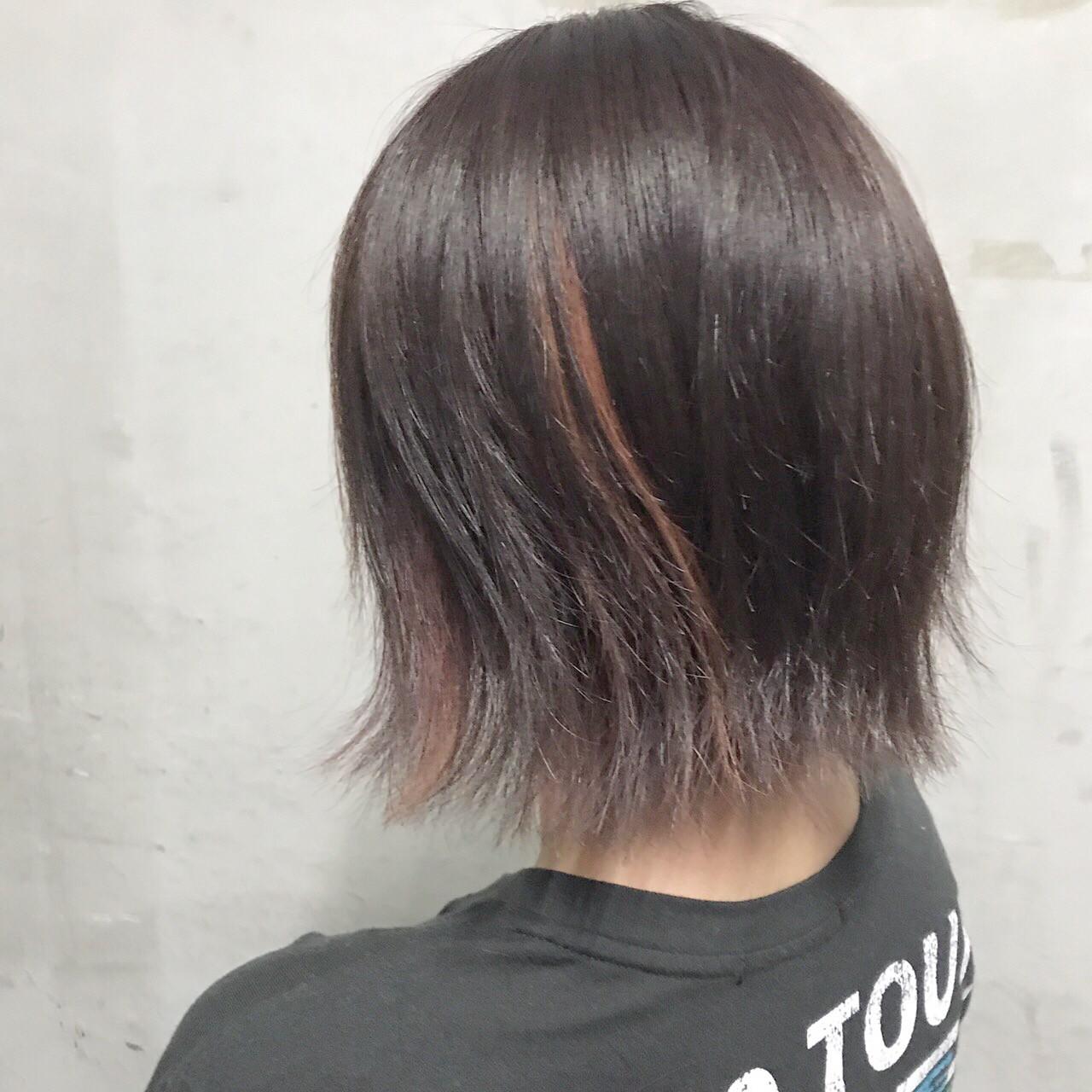 グラデーションカラー ストリート アウトドア ボブ ヘアスタイルや髪型の写真・画像 | 山口 卓哉/earth北浦和店 / Hair&Make EARTH北浦和店