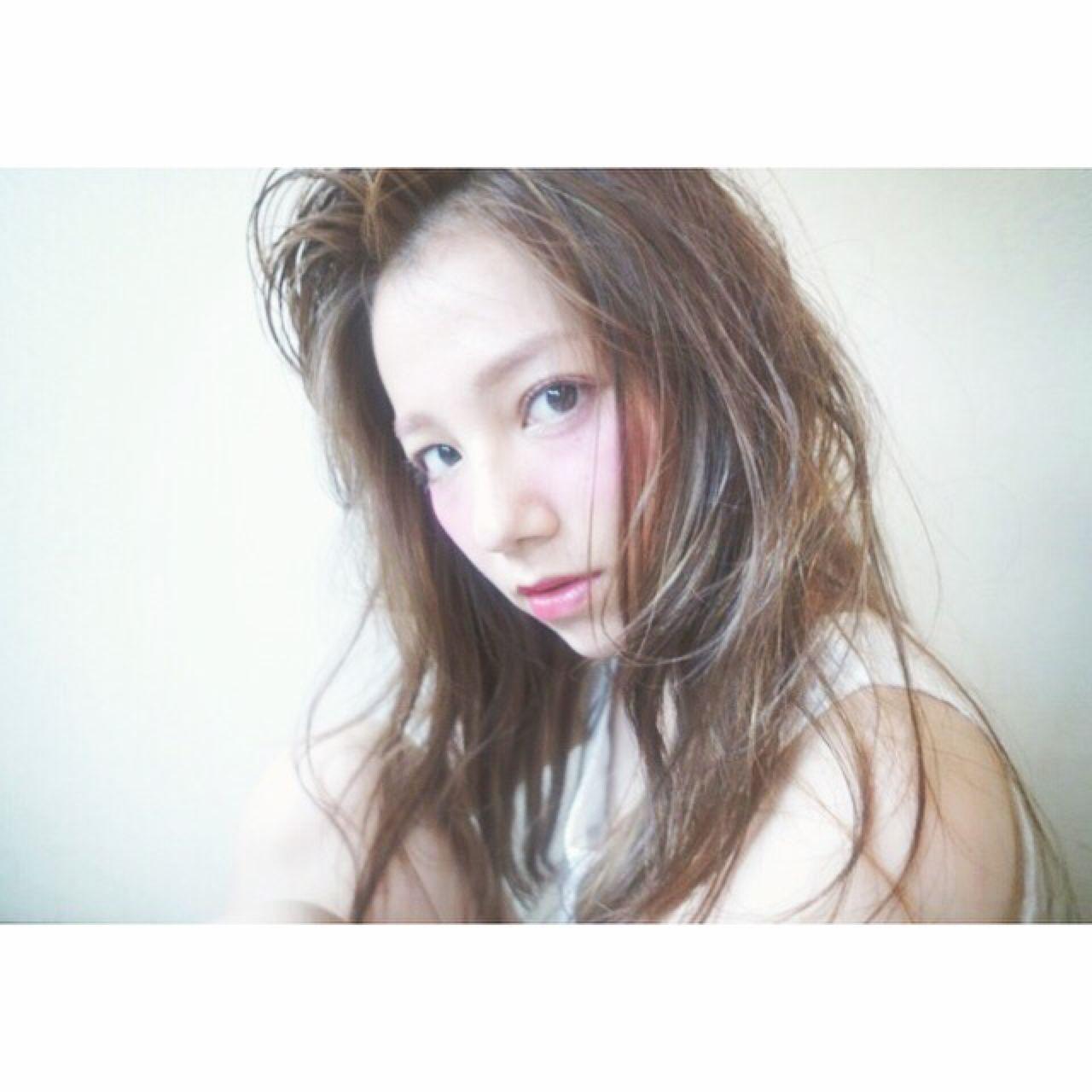 """""""ヌーディーカラー""""をヘアにも。秋はヌーディーで●●女子に♡ kyohei shinmura PAA"""