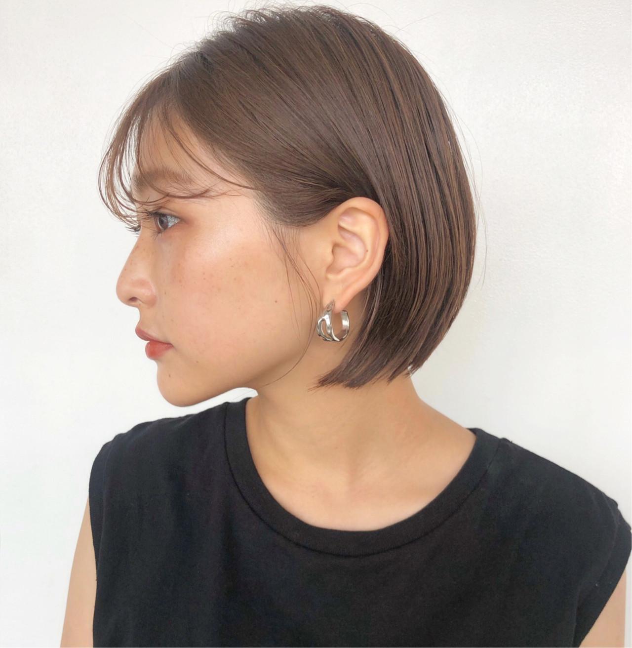 ショートヘア ショート ベリーショート オフィスヘアスタイルや髪型の写真・画像