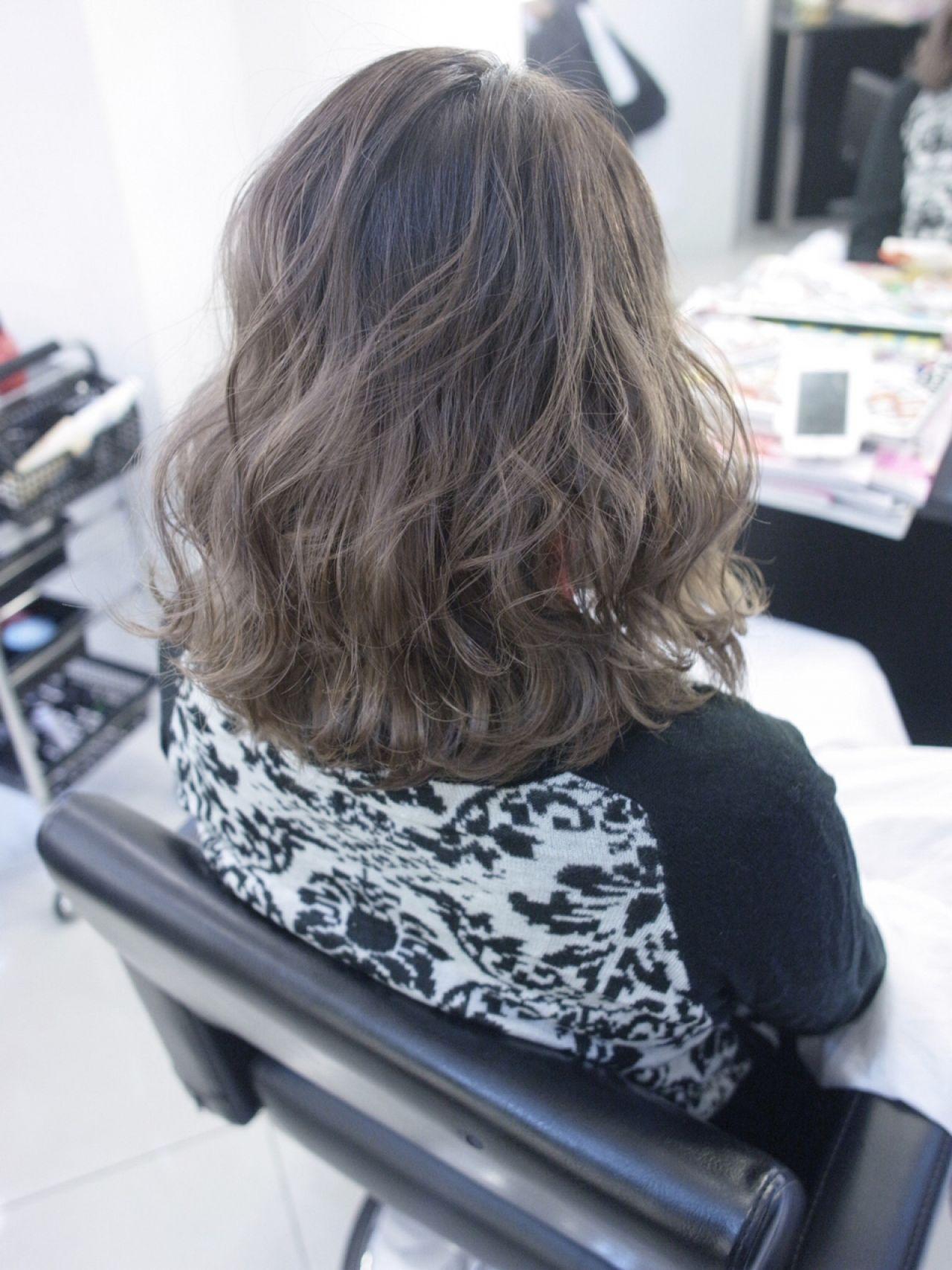 ストリート コンサバ ガーリー ウェーブヘアスタイルや髪型の写真・画像