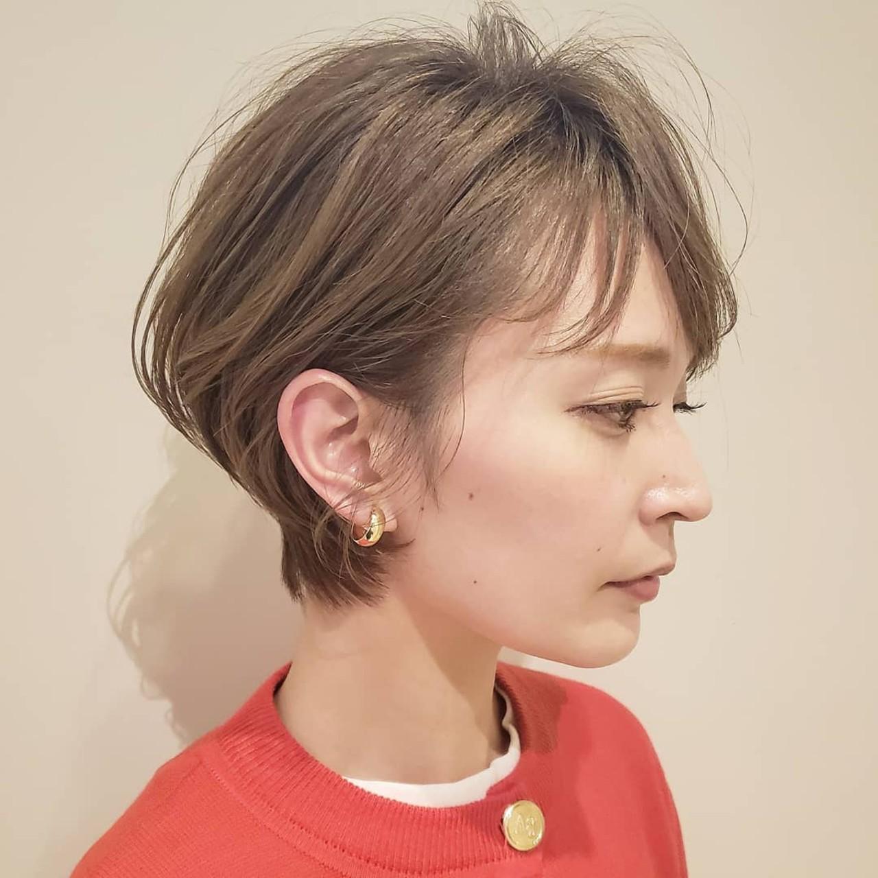 オフィス 簡単ヘアアレンジ デート アウトドアヘアスタイルや髪型の写真・画像