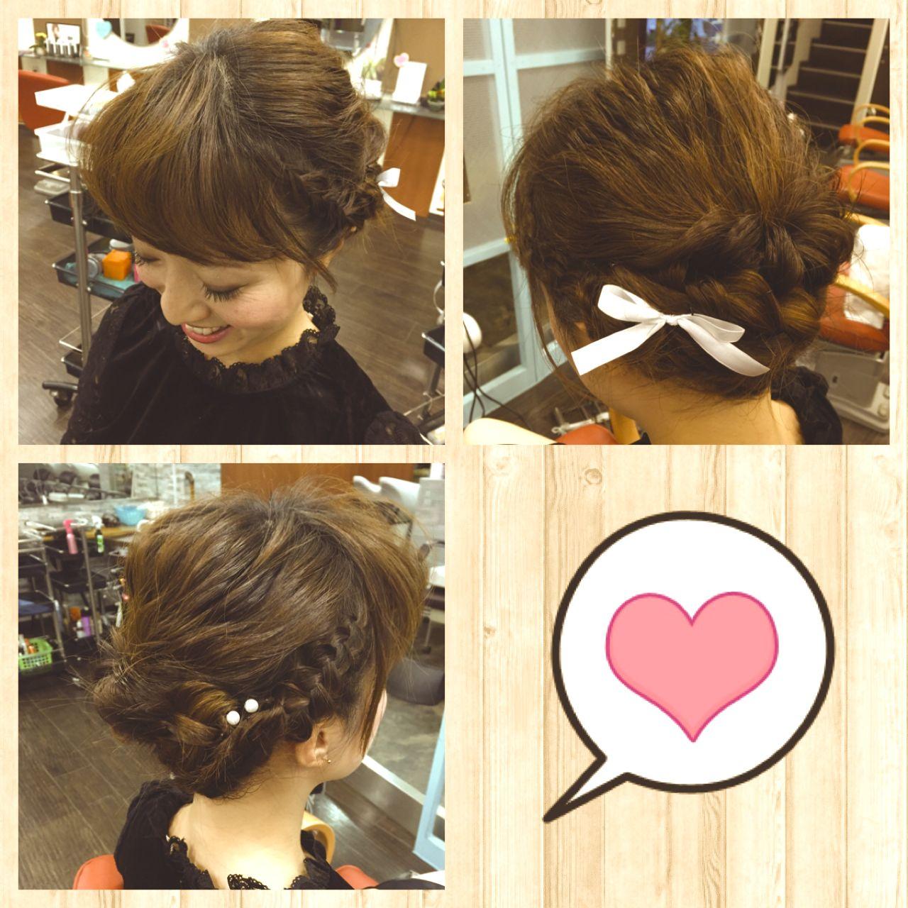 愛され ゆるふわ 大人かわいい ヘアアレンジ ヘアスタイルや髪型の写真・画像 | Chiemi Inagaki / la moda