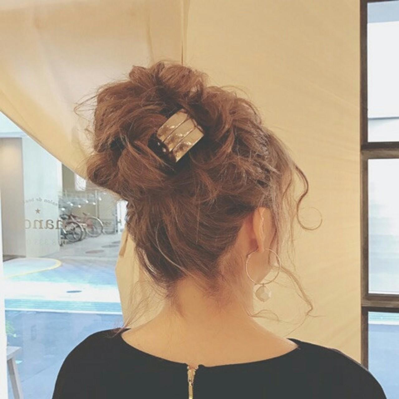 ヘアアレンジ エレガント 上品 ロング ヘアスタイルや髪型の写真・画像   浦川由起江 / nanon