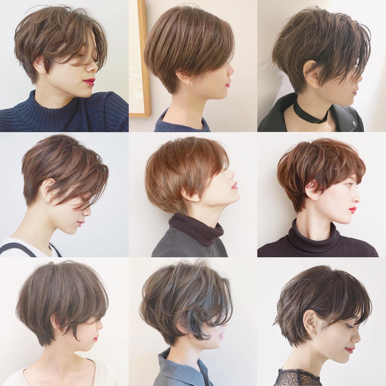 オフィス ショート スポーツ ハンサムショート ヘアスタイルや髪型の写真・画像 | ショートヘア美容師 #ナカイヒロキ / 『send by HAIR』