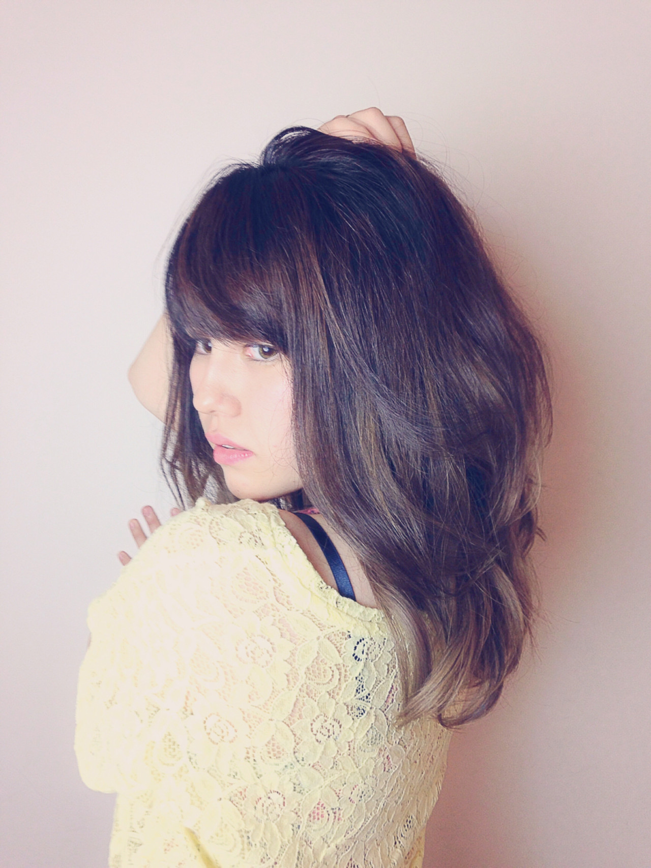 グラデーションカラー アッシュ 外国人風カラー グレージュ ヘアスタイルや髪型の写真・画像 | カラーリスト・YuuKi Sekimoto / wherever