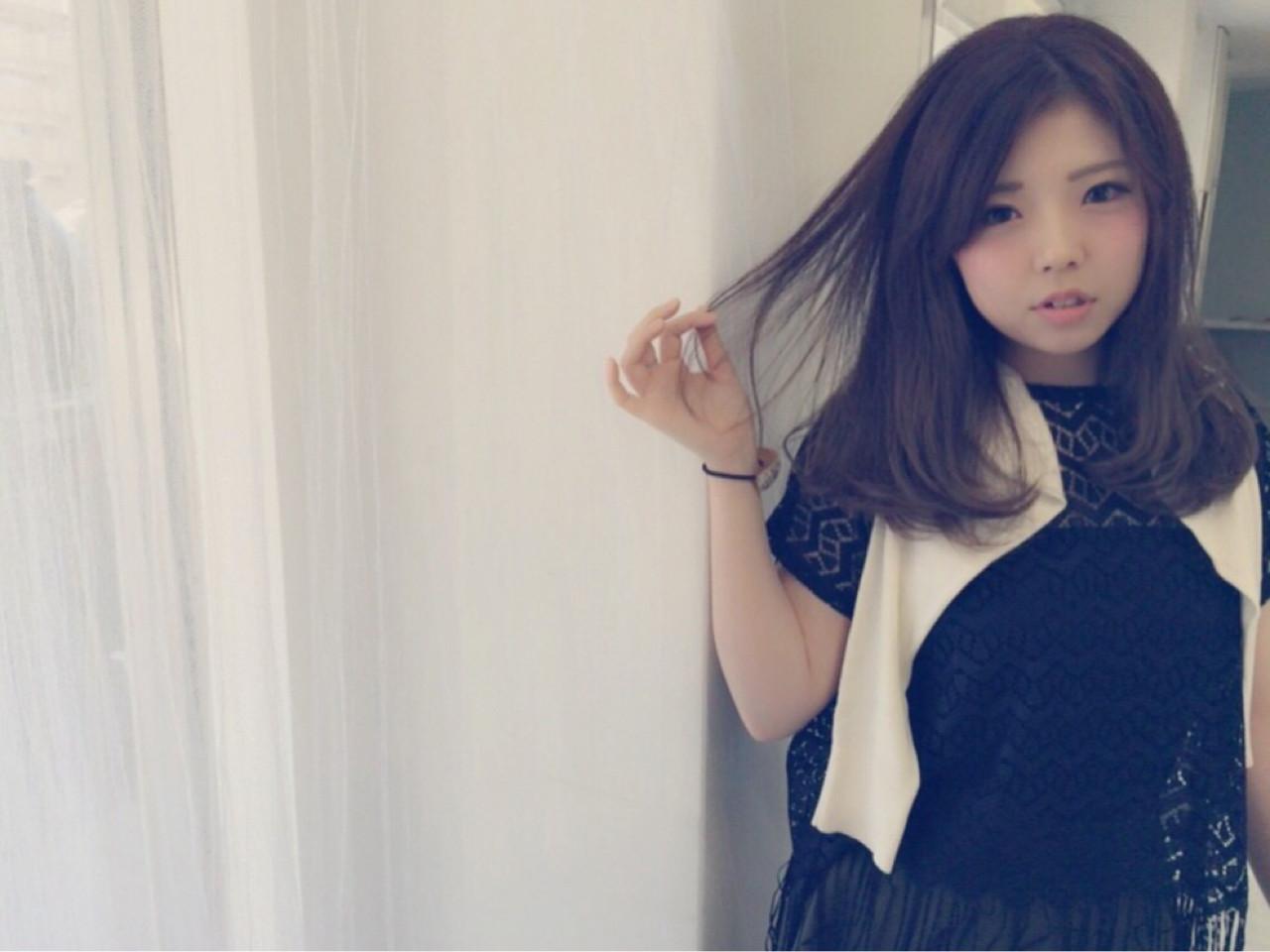 ナチュラル ピュア フェミニン 大人かわいい ヘアスタイルや髪型の写真・画像 | Misuzu Imoto / affect アフェクト