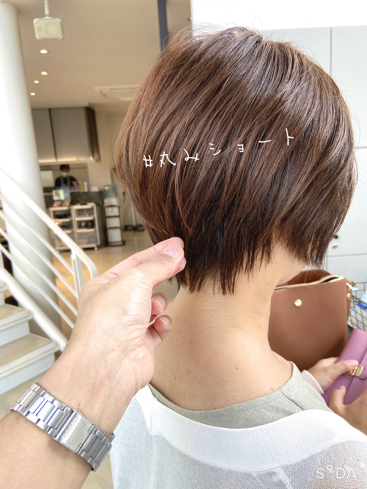 ミニボブ ショート ベリーショート ショートボブ ヘアスタイルや髪型の写真・画像 | 大川 ヒデオ / BLANCO Tre's鏡島