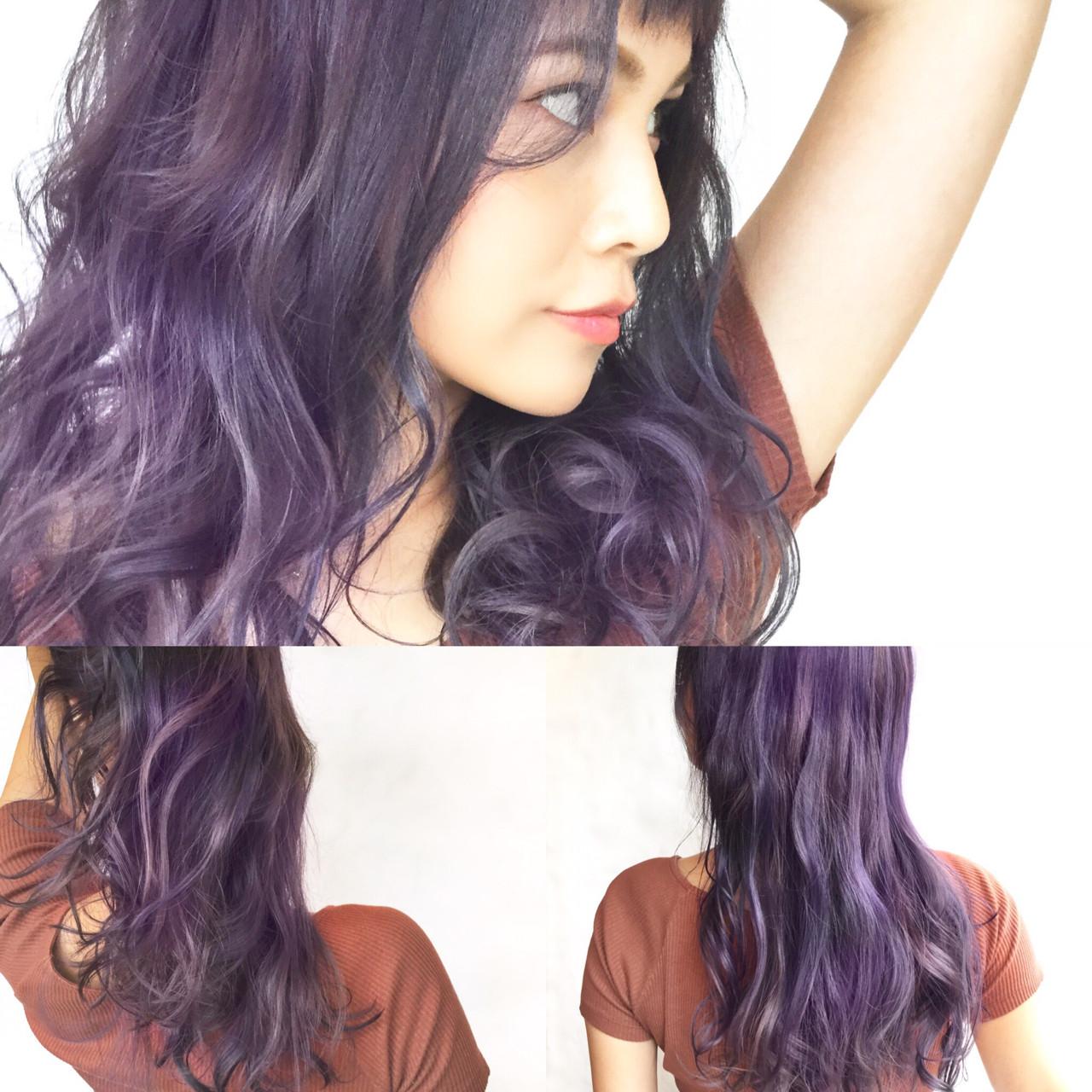 モード ロング 透明感 秋 ヘアスタイルや髪型の写真・画像 | 浜田敦史 / Tiffa栄