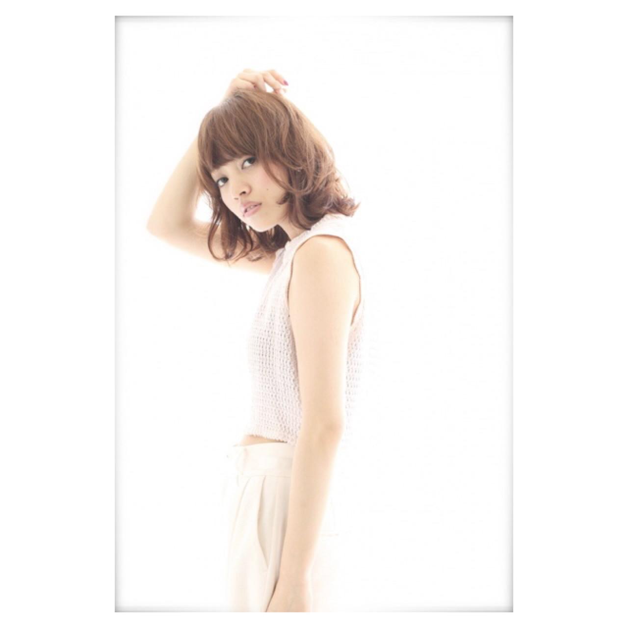 抜け感 ストリート 外国人風 ボブ ヘアスタイルや髪型の写真・画像 | 鈴木 愛 / neolive CiroL.