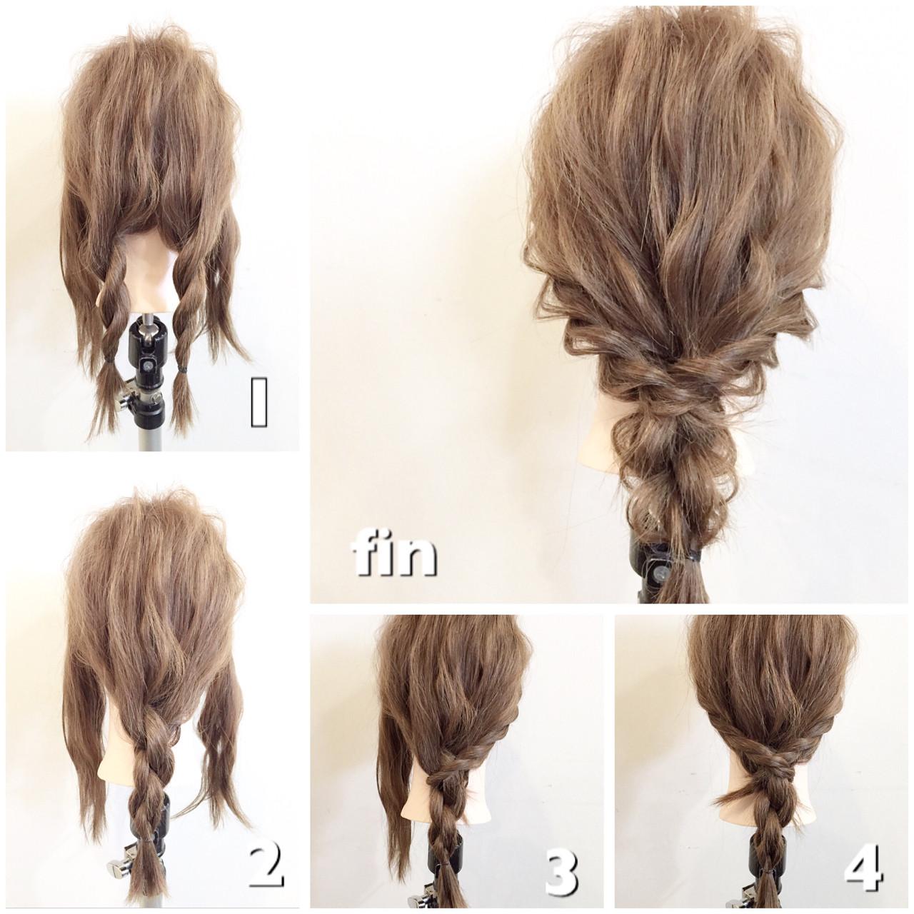 [詳しい方法付き]毎日をオシャレに飾りたい!誰でもできる簡単ヘアアレンジ特集 出典:平岡 歩 / hair&beauty NON