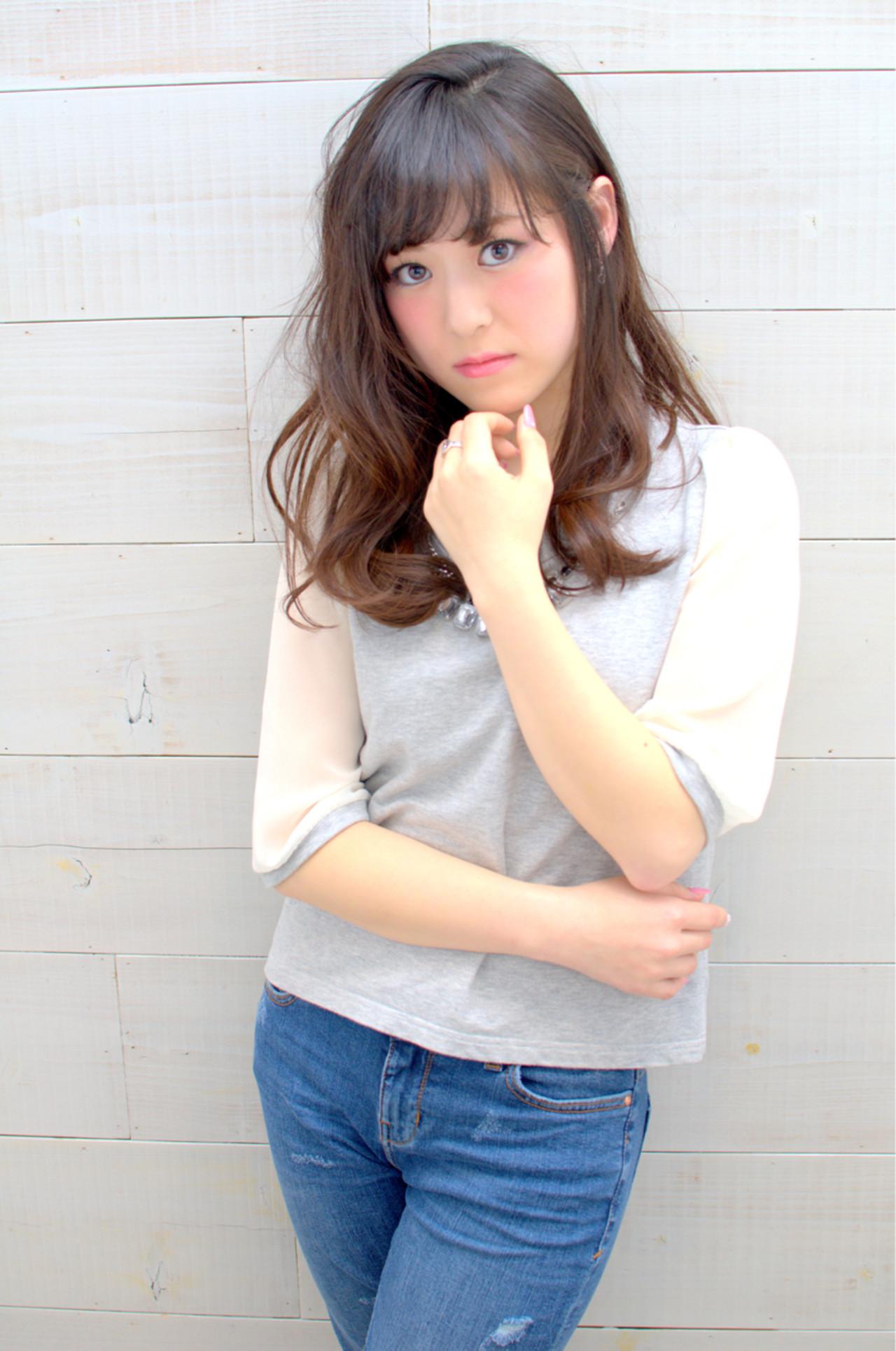 フェミニン 大人かわいい コンサバ 外国人風 ヘアスタイルや髪型の写真・画像   三村 昇 / MUSEUM(ミュージアム)