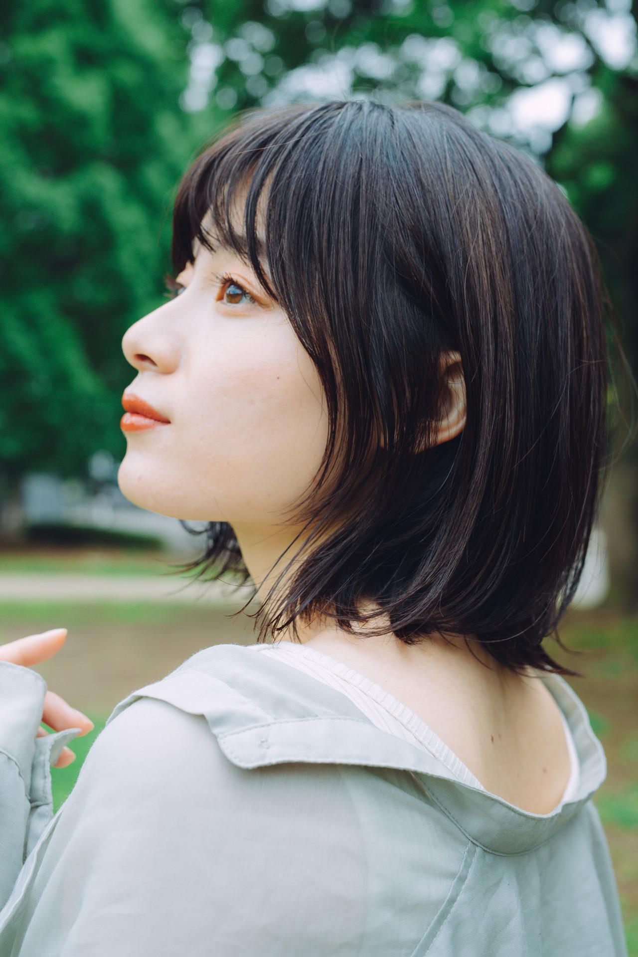 ボブ 外ハネボブ  ミニボブ ヘアスタイルや髪型の写真・画像 | 児玉善央 / GARDEN harajuku