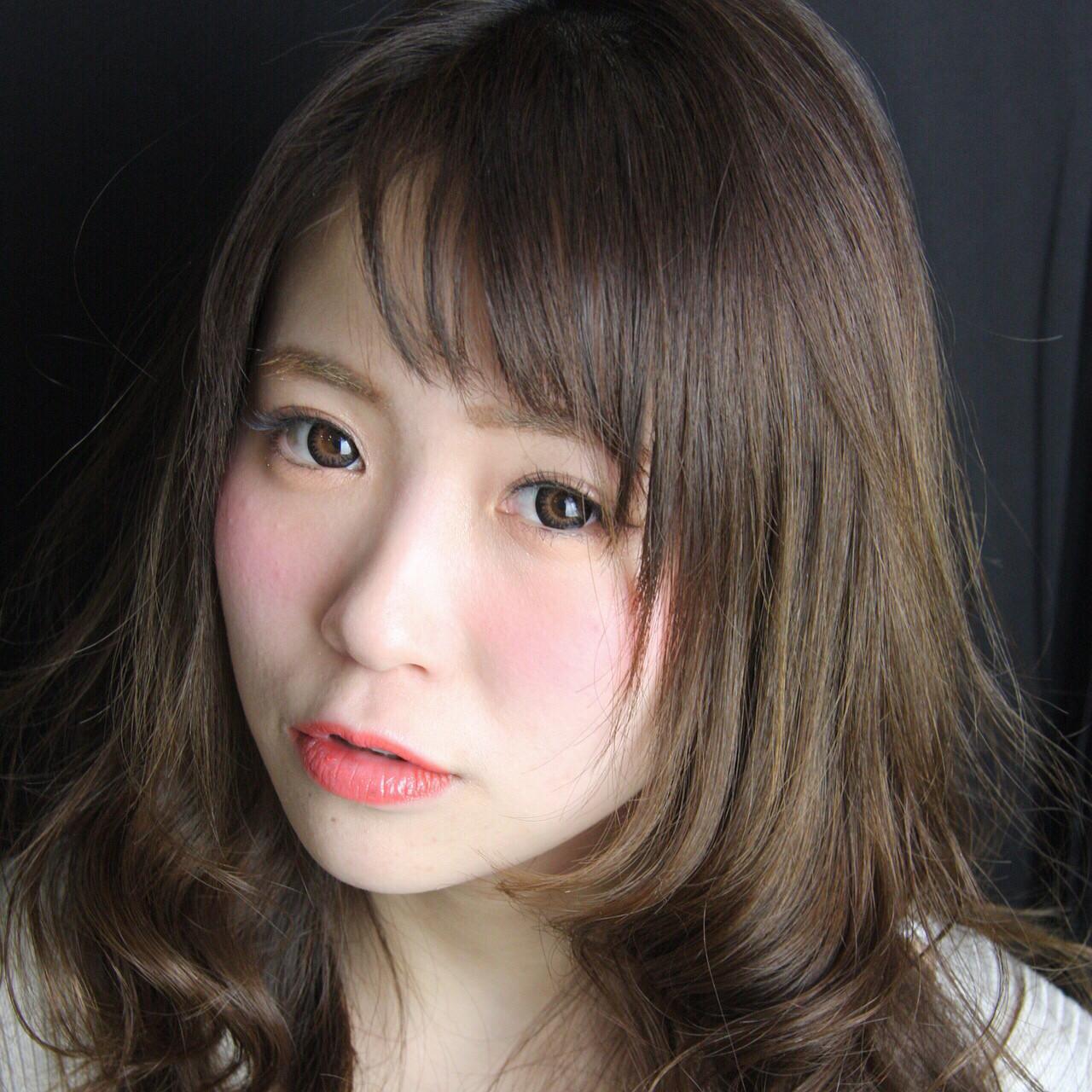 こなれ感 ナチュラル 小顔 アッシュ ヘアスタイルや髪型の写真・画像 | yasu / s2