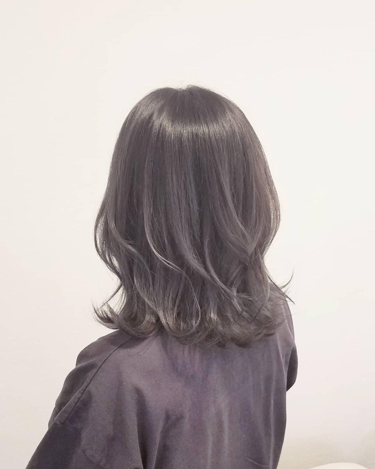ナチュラル グレージュ 外国人風カラー アッシュ ヘアスタイルや髪型の写真・画像 | 浅原 有輝 / rough