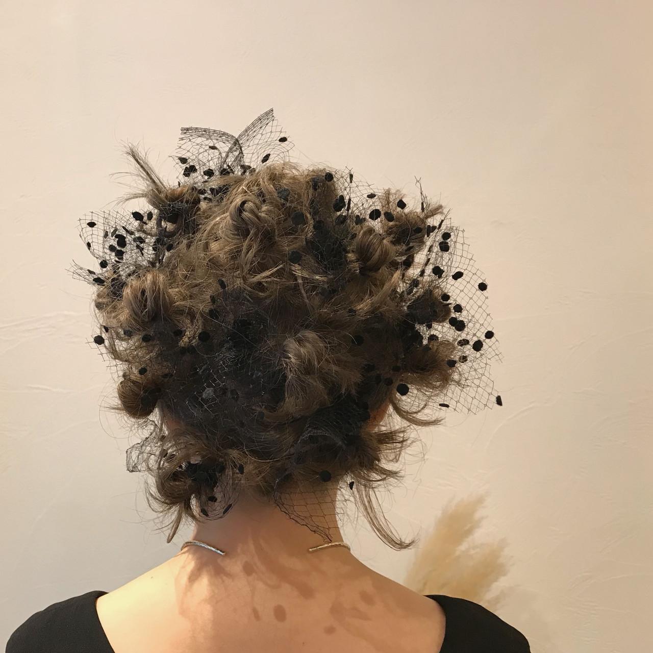 成人式 ボブ ヘアアレンジ 結婚式 ヘアスタイルや髪型の写真・画像 | Emiko Nakanishi / MAULOA