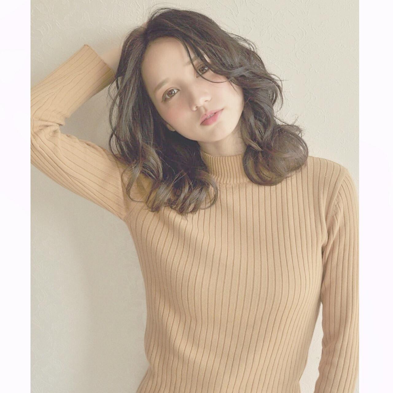 透明感 外国人風 簡単 暗髪 ヘアスタイルや髪型の写真・画像   槌田美希 インスタ➡︎MIKI_TSUCHIDA / DIFINOakasaka