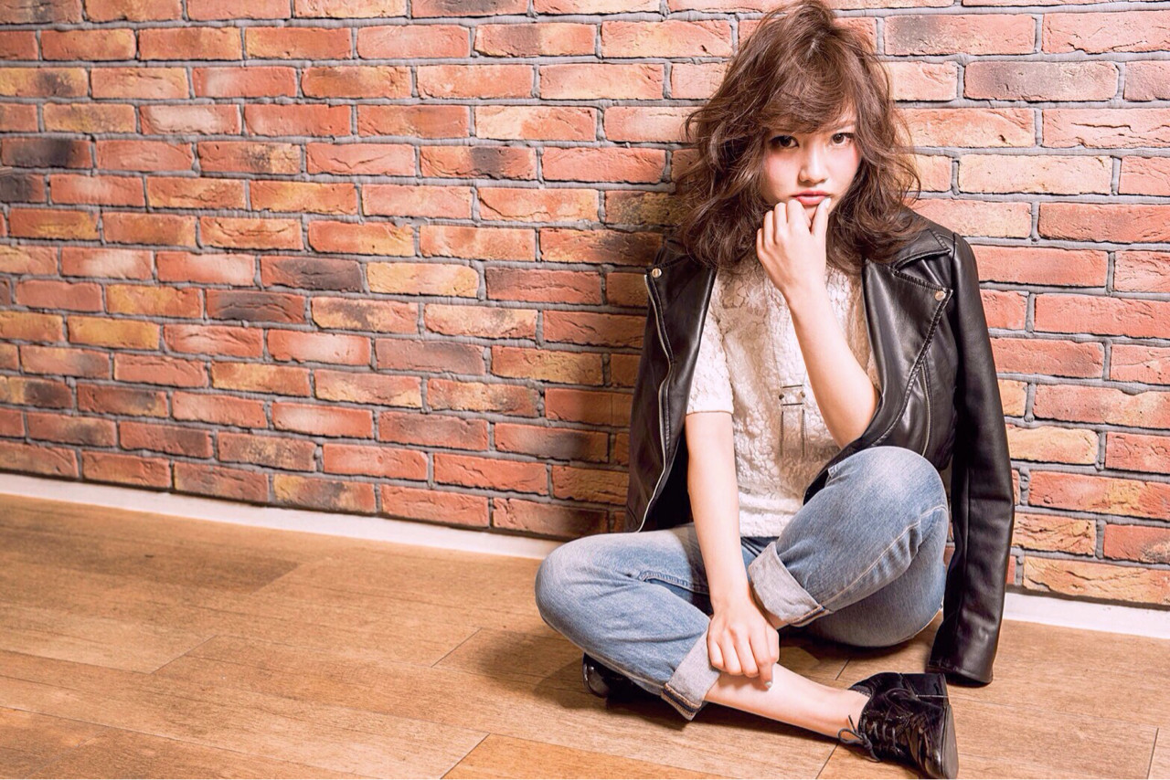 パーマ ストリート ゆるふわ かっこいい ヘアスタイルや髪型の写真・画像 | KUMI /