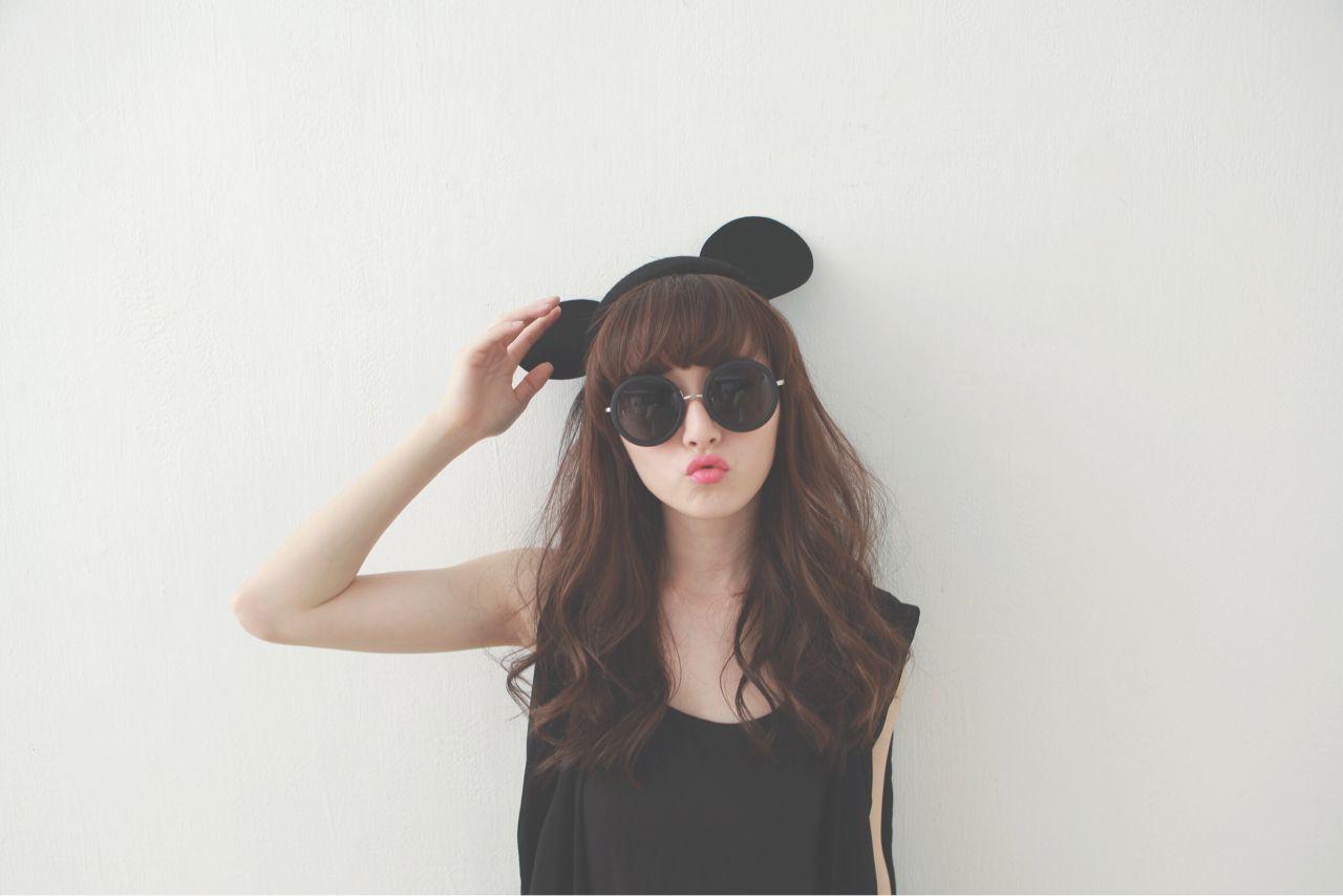 春夏のトレンドカラーはブラック!シックなコーディネートに似合うヘアスタイルとは…? Caridee chu_朱綺綺
