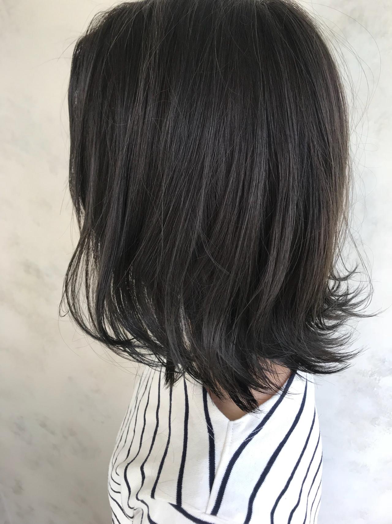 ミルクティー こなれ感 ハイライト ゆるふわ ヘアスタイルや髪型の写真・画像 | Yuuki Kamizuru / iro by siki