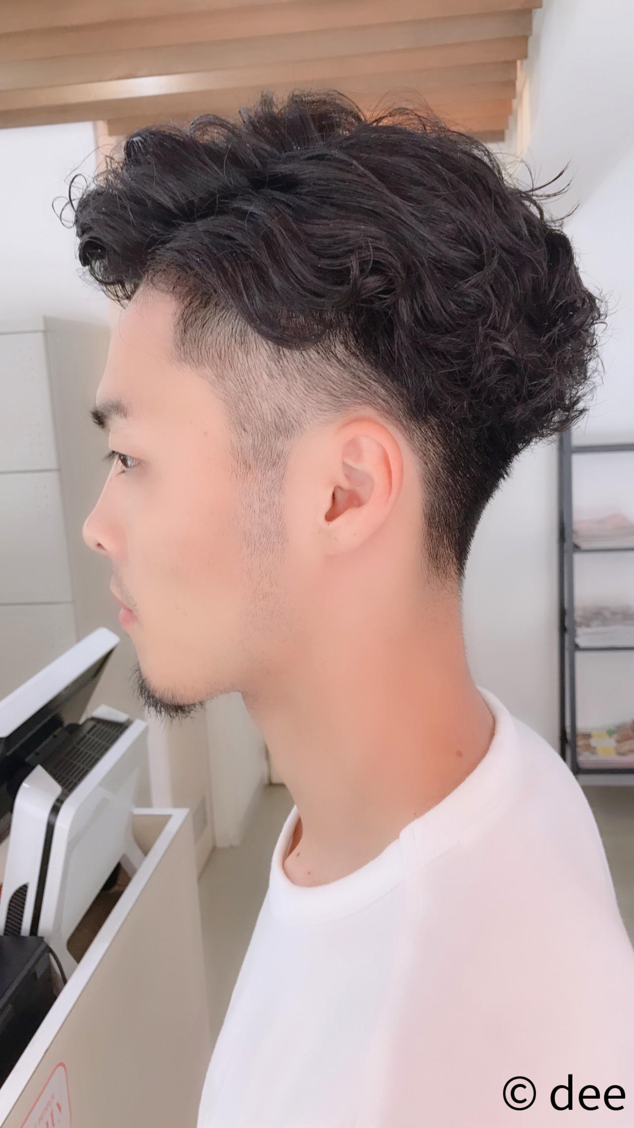 刈り上げ メンズ 髪型