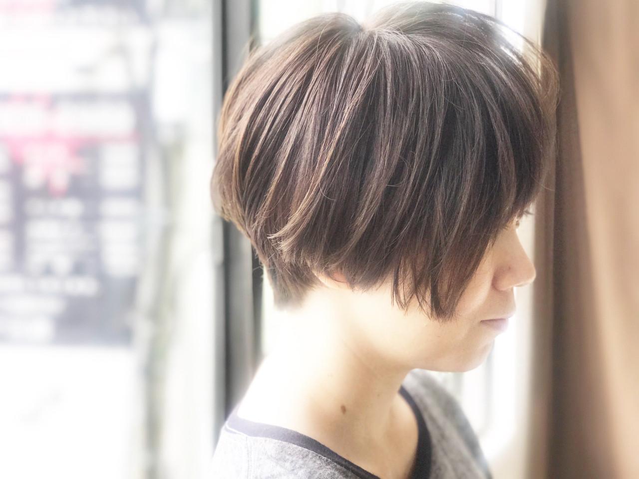 ナチュラル 透明感 大人女子 ボブ ヘアスタイルや髪型の写真・画像   カワマタ リョウスケ / w h i t e . 梅田