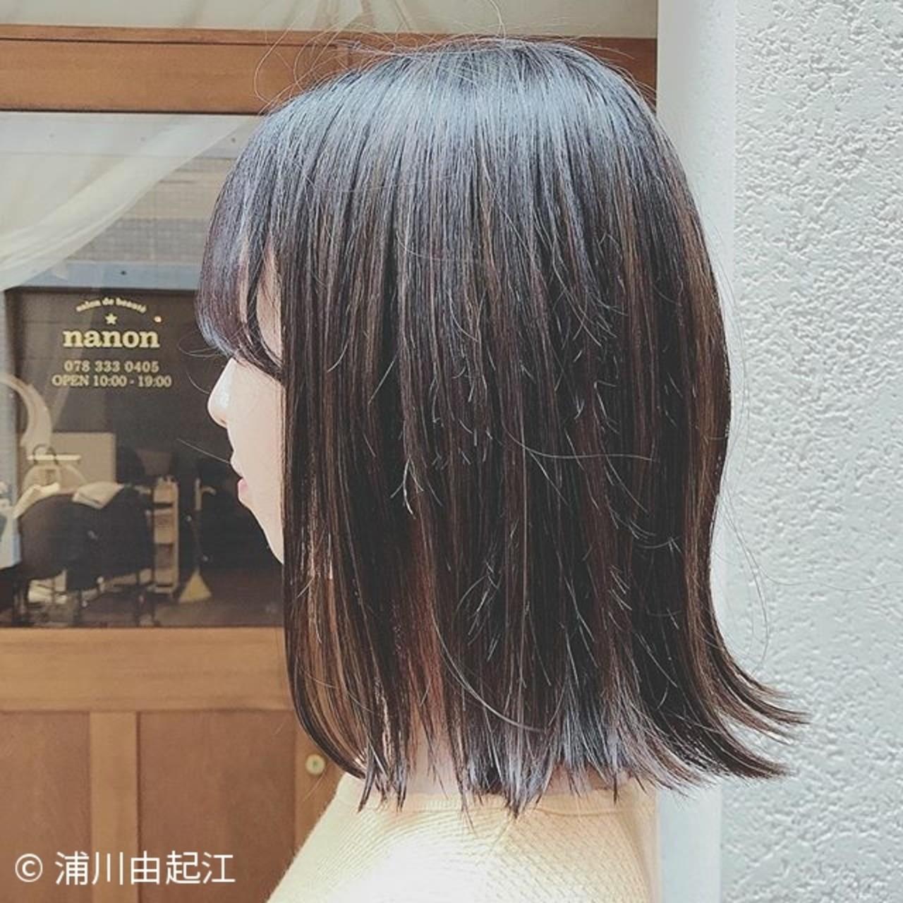 ゆるふわ ハイライト デート 大人かわいい ヘアスタイルや髪型の写真・画像 | 浦川由起江 / nanon