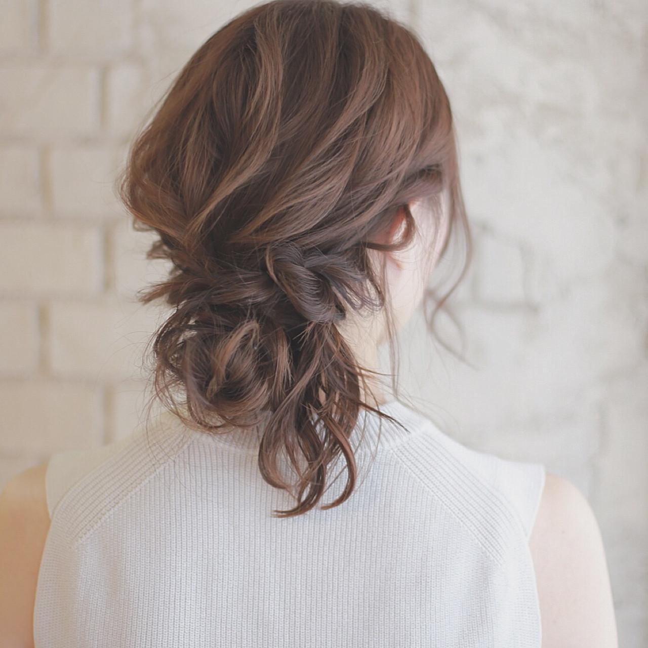 パーティ 簡単ヘアアレンジ ショート 結婚式 ヘアスタイルや髪型の写真・画像 | 廣田哲也 / nalu hair