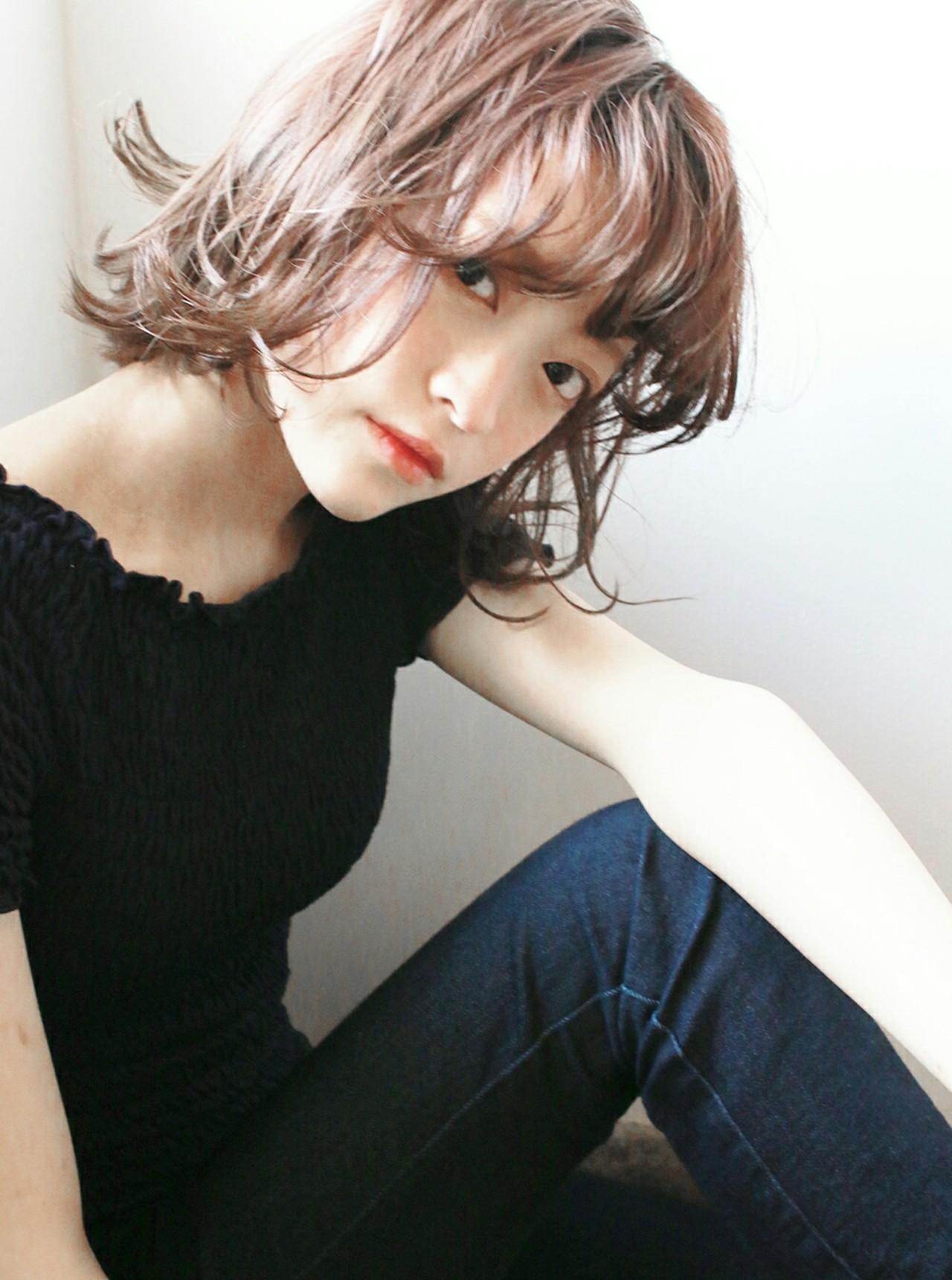 透け髪にキュンッ♡前髪だけじゃない、シースルーボブが今キテル理由。 安達瑛 / Ravo hair