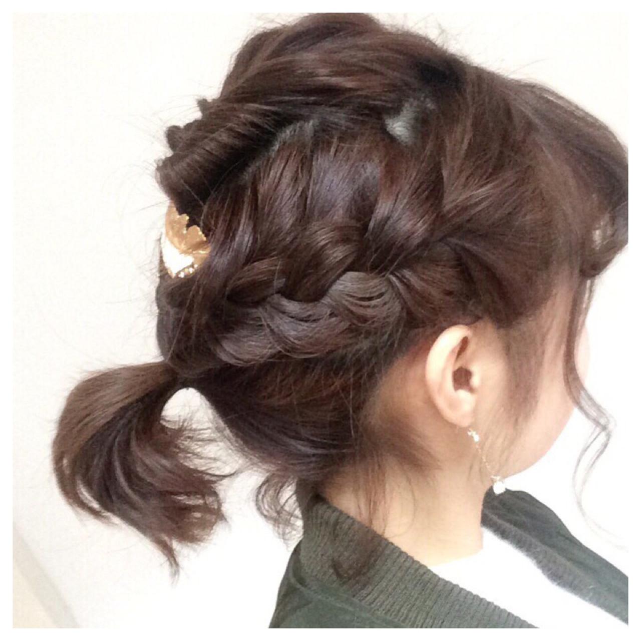 [詳しい方法付き]毎日をオシャレに飾りたい!誰でもできる簡単ヘアアレンジ特集 出典:実咲