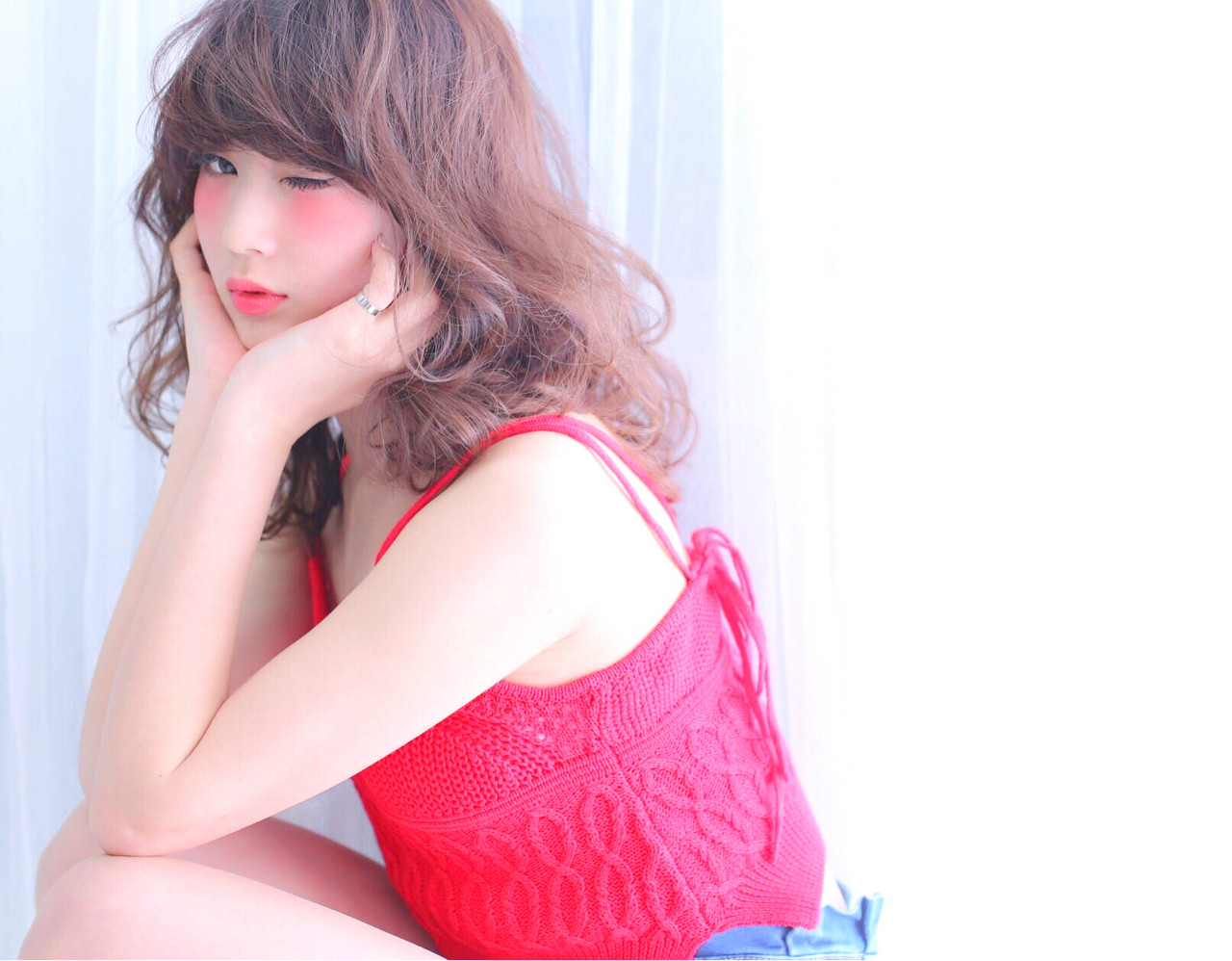 おフェロ ゆるふわ 甘め ナチュラル ヘアスタイルや髪型の写真・画像 | 高瀬 功二 / Liliy