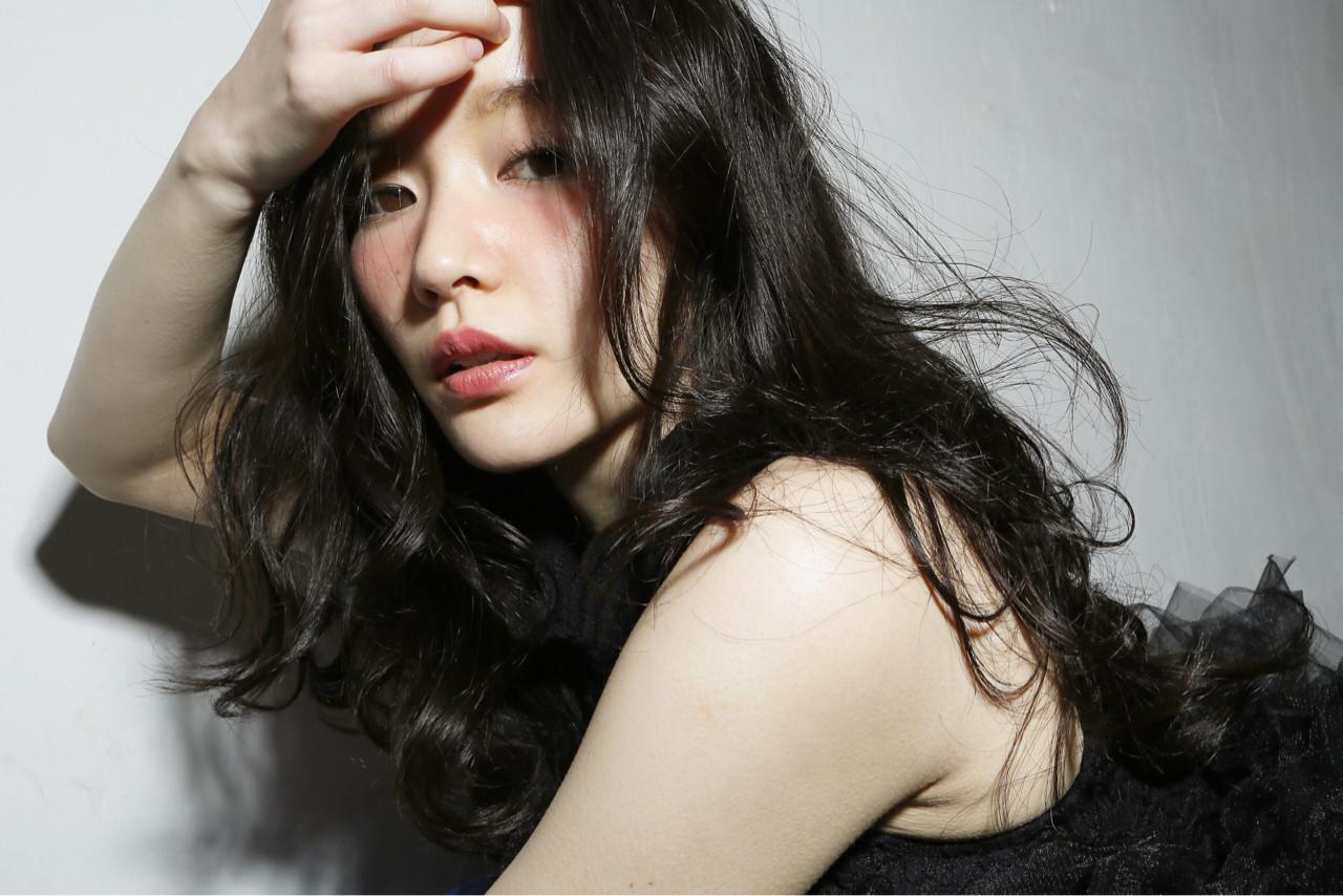 フェミニン ナチュラル 外国人風 大人かわいい ヘアスタイルや髪型の写真・画像 | 清水桃子 / ミルクブッシュ / ミルクブッシュ