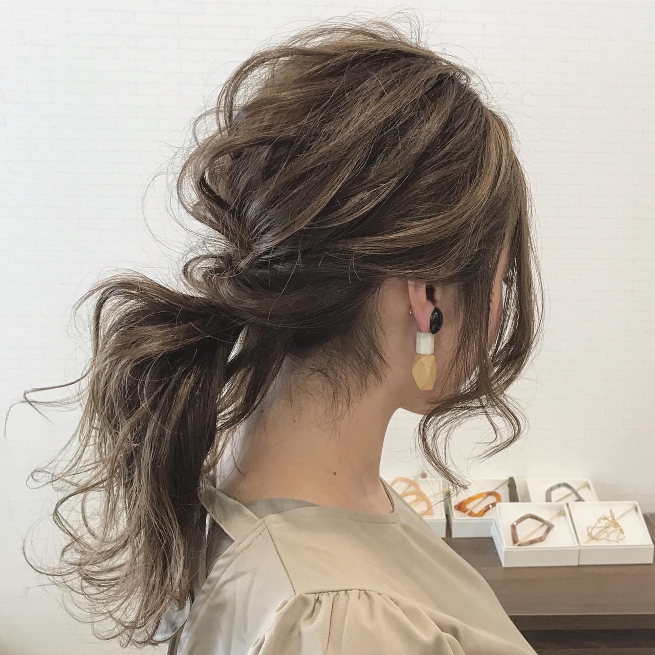結婚式 大人かわいい 秋 ヘアアレンジ ヘアスタイルや髪型の写真・画像 | SHOTA / cherir