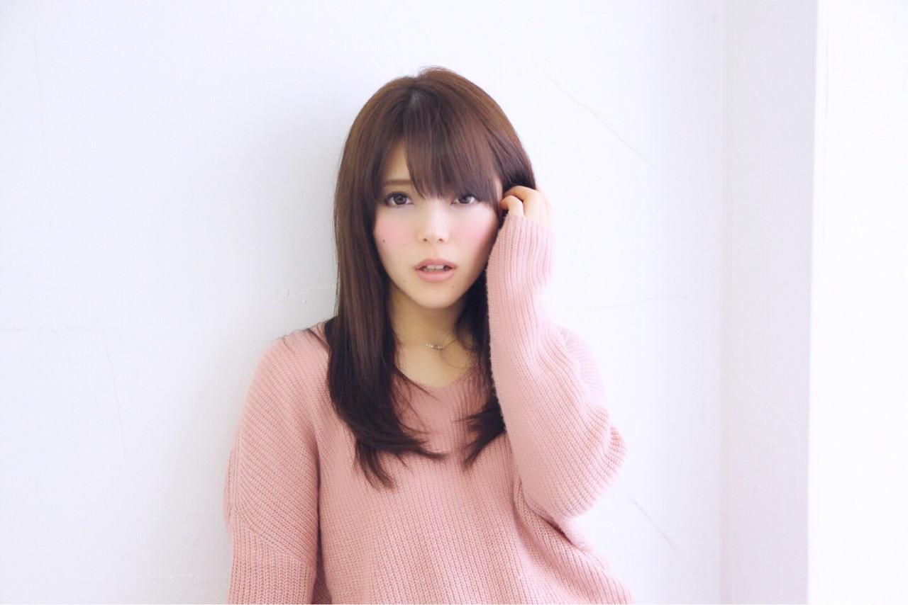 愛され モテ髪 アッシュ 大人かわいい ヘアスタイルや髪型の写真・画像 | 山田 あかり /