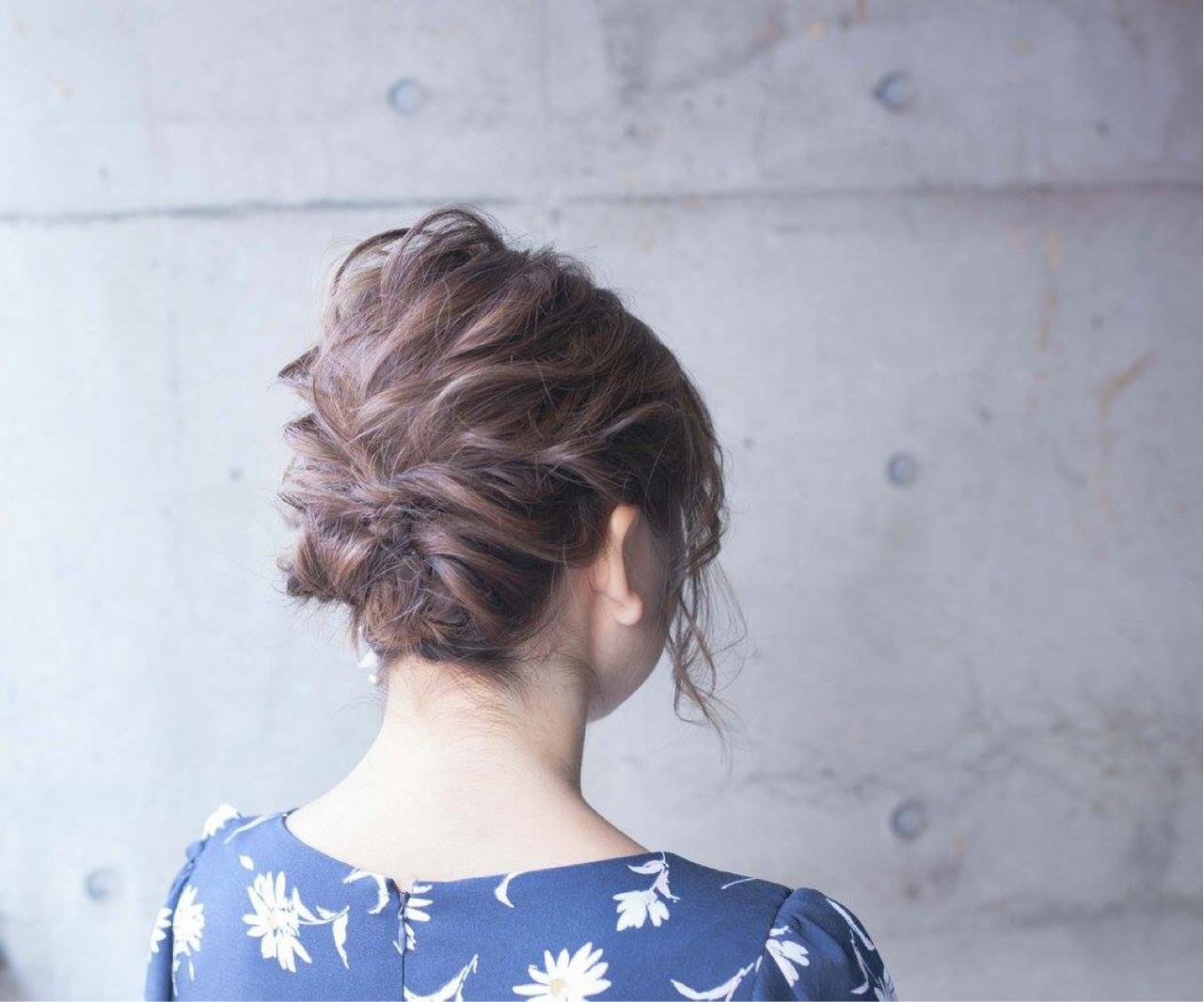 ボブ ショート パーティ 結婚式 ヘアスタイルや髪型の写真・画像 | 内田 一也 / hair/nail space a:le