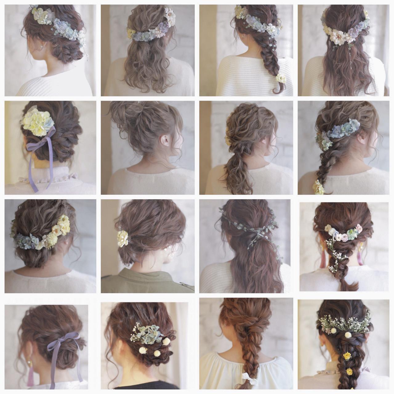 簡単ヘアアレンジ 成人式 ミディアム 大人かわいい ヘアスタイルや髪型の写真・画像 | 廣田哲也 / nalu hair
