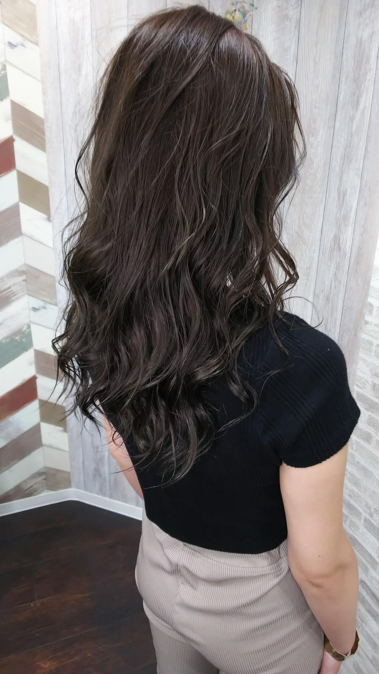 ダブルカラー 夏 フェミニン ヘアカラー ヘアスタイルや髪型の写真・画像   奥村 亮太 / WILL hair 姫路駅前