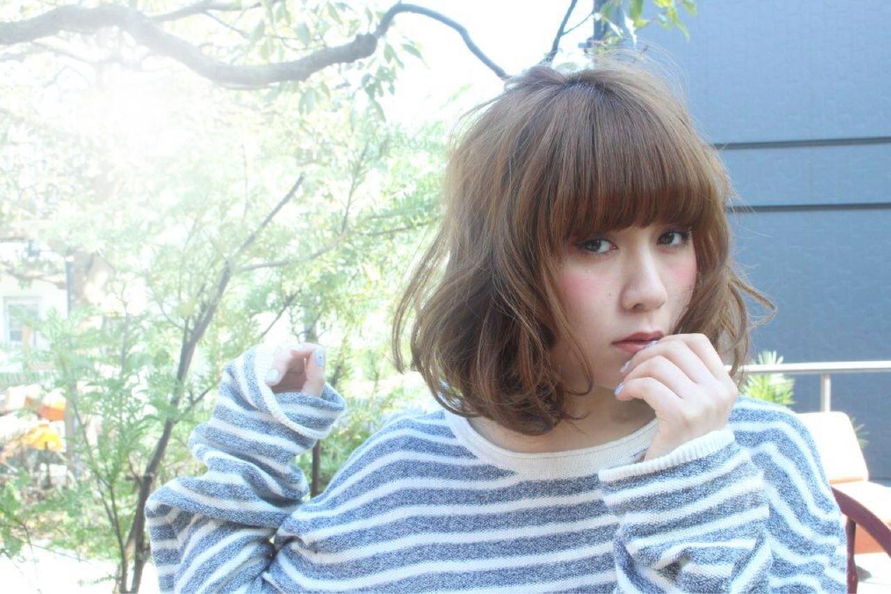 大人かわいい ガーリー アッシュ ゆるふわ ヘアスタイルや髪型の写真・画像 | erina maeda / smile